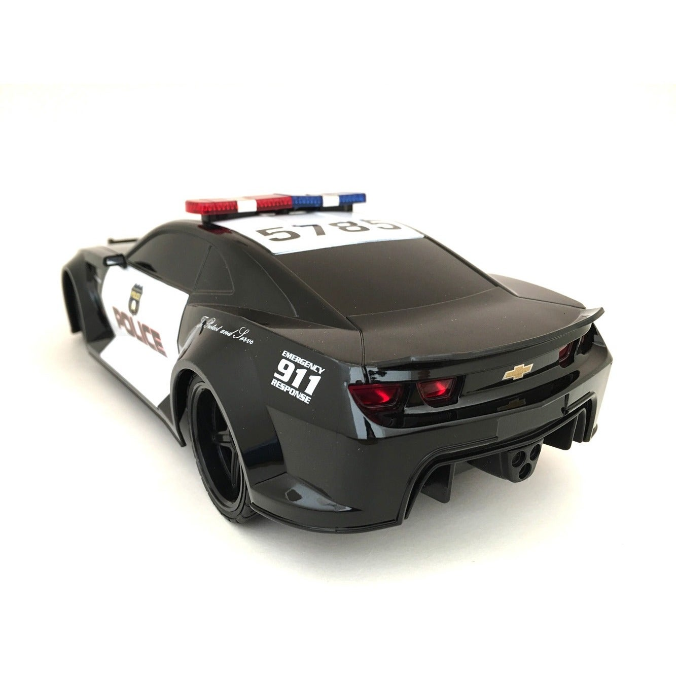 Tri Band Remote Control 1:18 Scale Chevrolet Camaro RC Police Car   Free  Shipping On Orders Over $45   Overstock.com   16606983