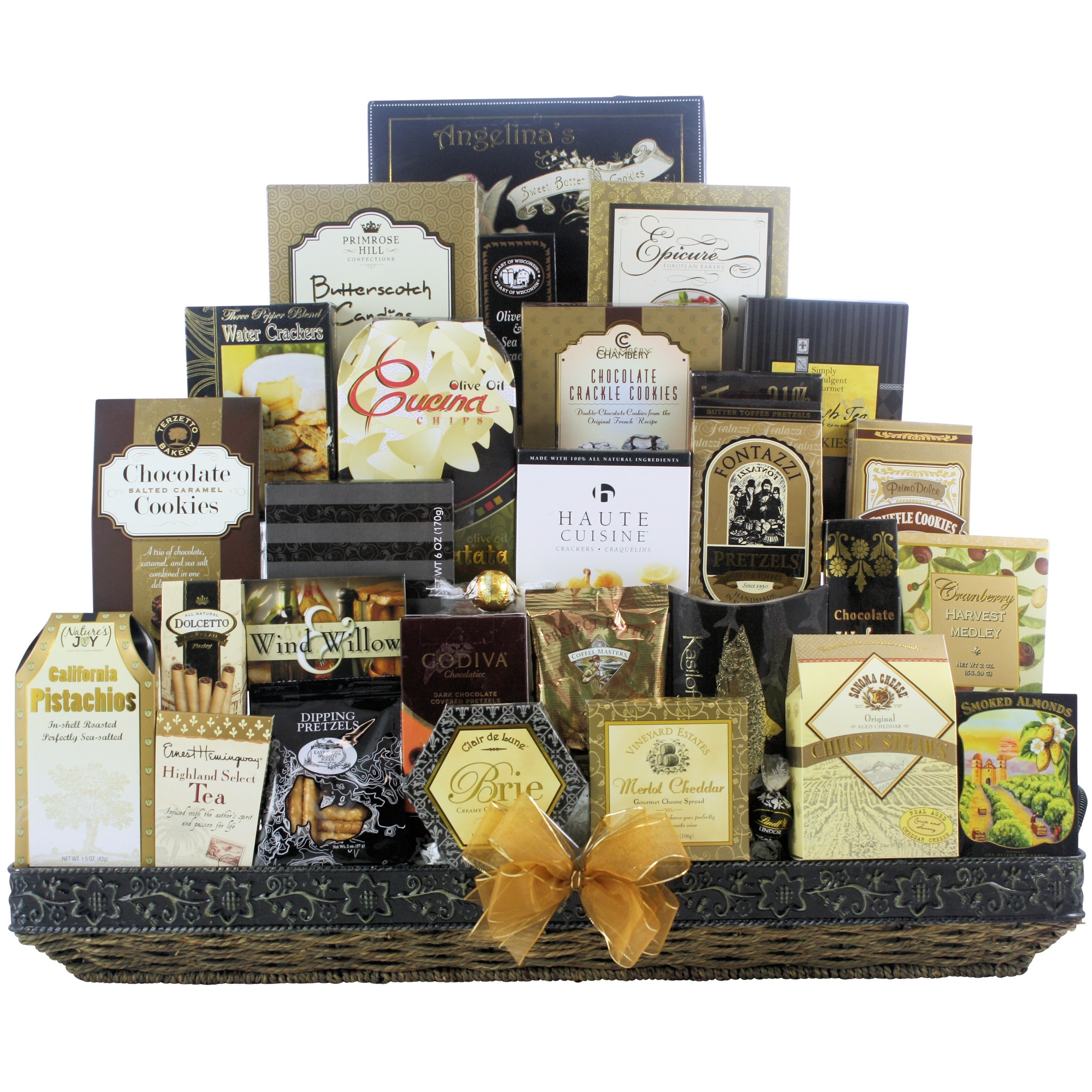 Shop Great Arrivals The Holiday VIP Gourmet Christmas Gift Basket ...