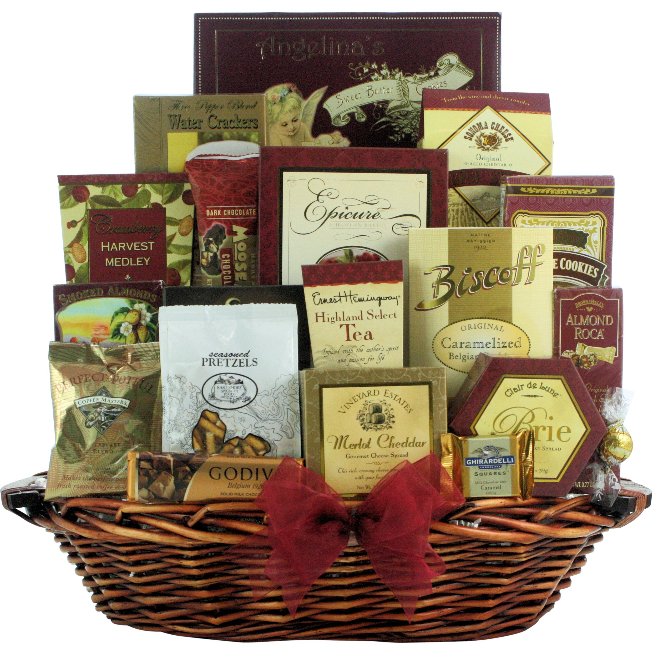 Great Arrivals Holiday Finer Things Gourmet Christmas Gift Basket ...