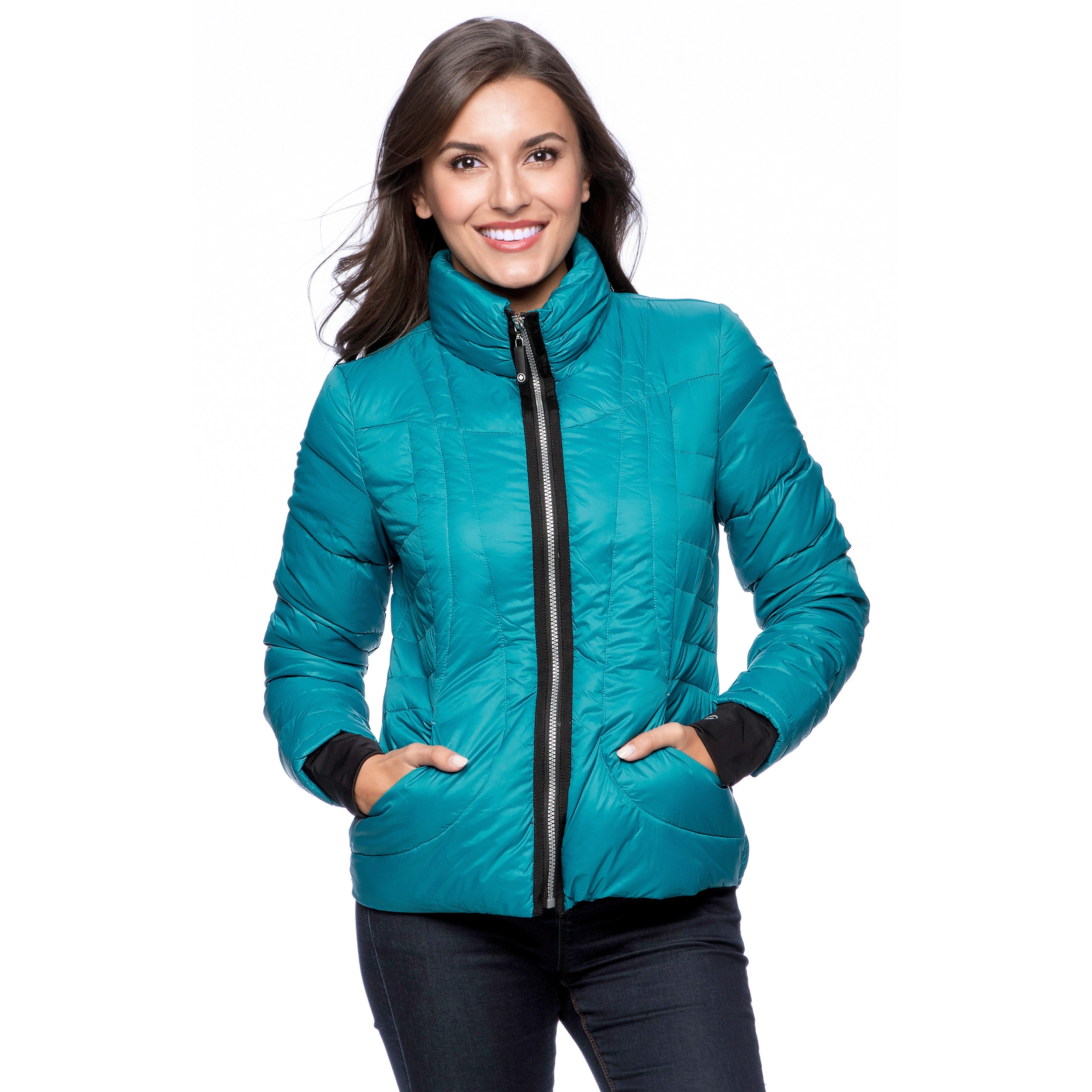 f8cc4c2d14c Shop Halifax Traders Women s Packable Down Fill Jacket - Free Shipping  Today - Overstock - 9420520
