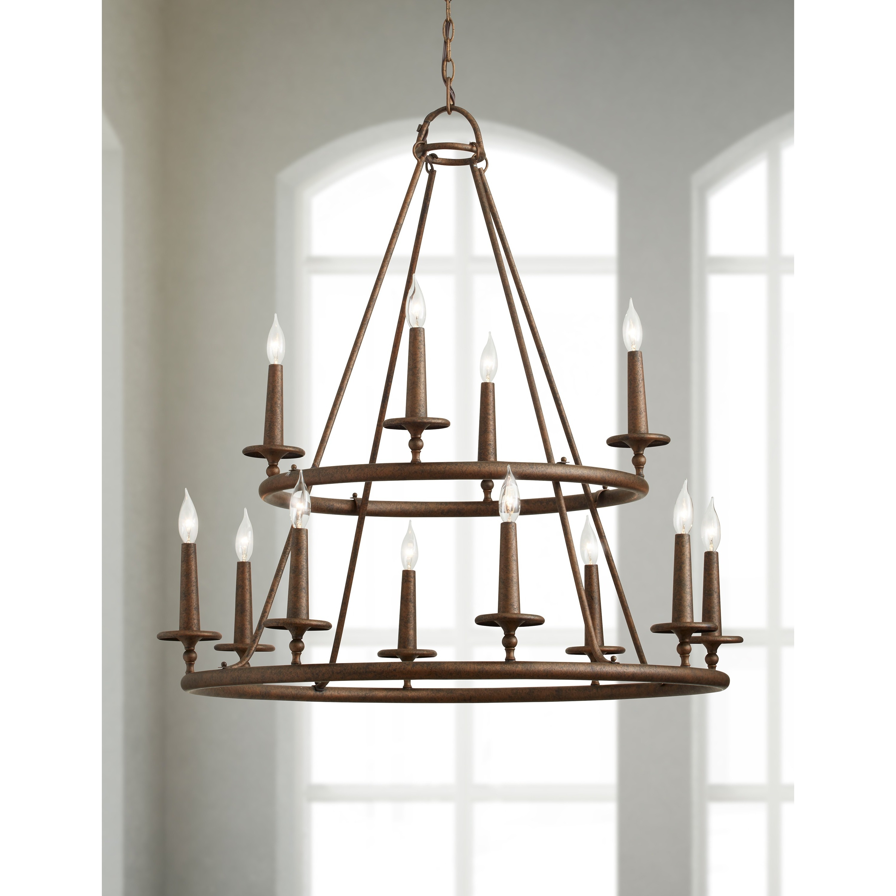Quoizel voyager 12 light malaga two tier chandelier free quoizel voyager 12 light malaga two tier chandelier free shipping today overstock 16608759 aloadofball Images