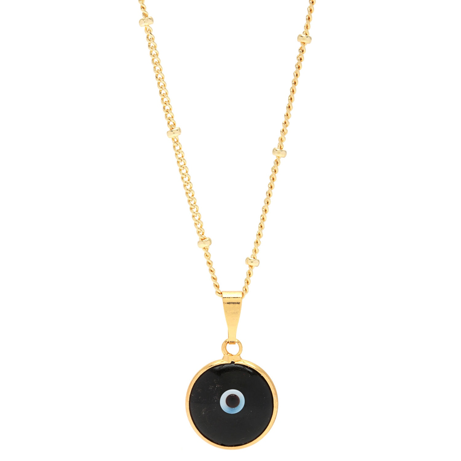 and moore elizabeth white black eye products pendant diamond evil necklace
