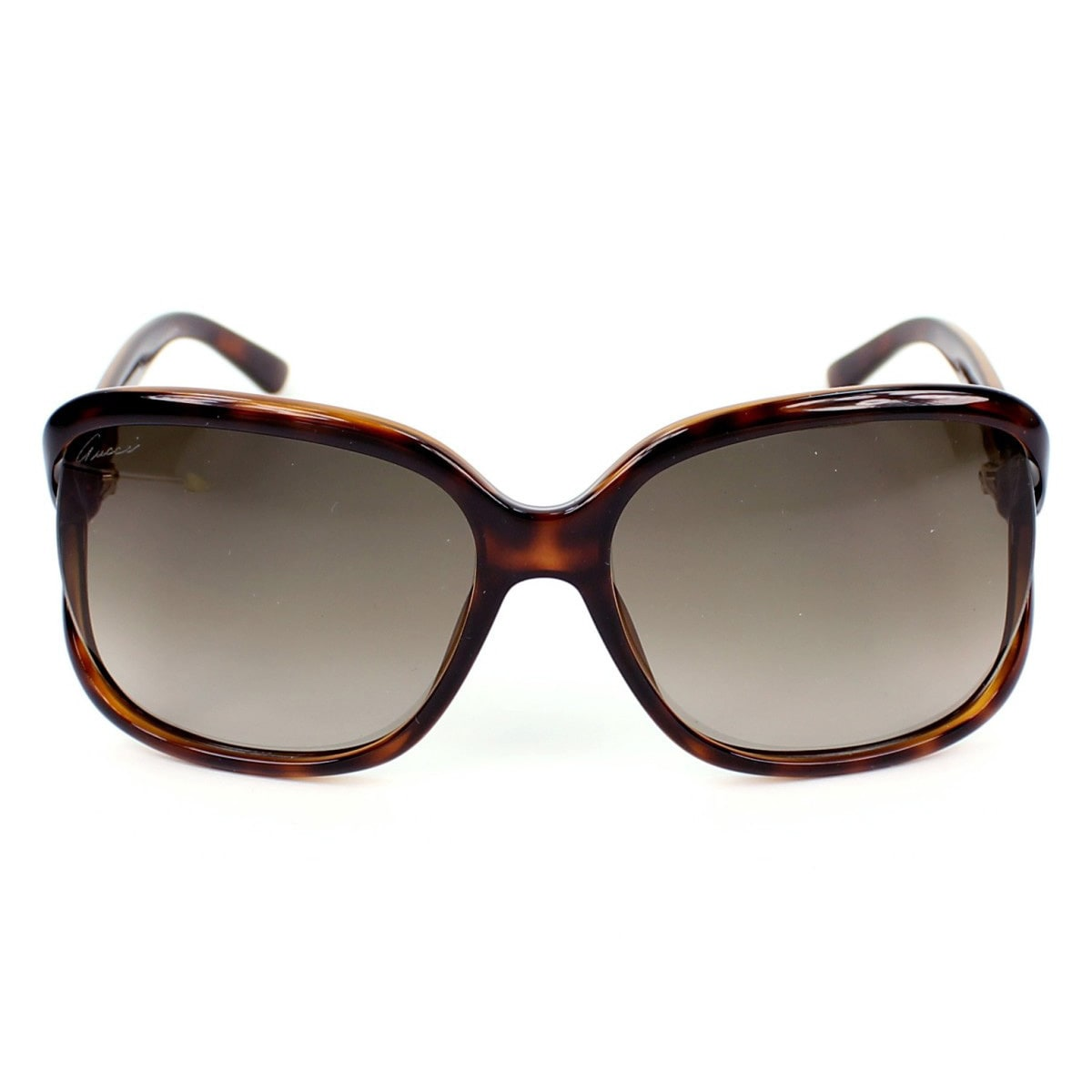e4c7d6ca8f362 Shop Gucci Women s  Gucci 3646 S DWJHA  Havana Rectangle Sunglasses - Free  Shipping Today - Overstock - 9423153