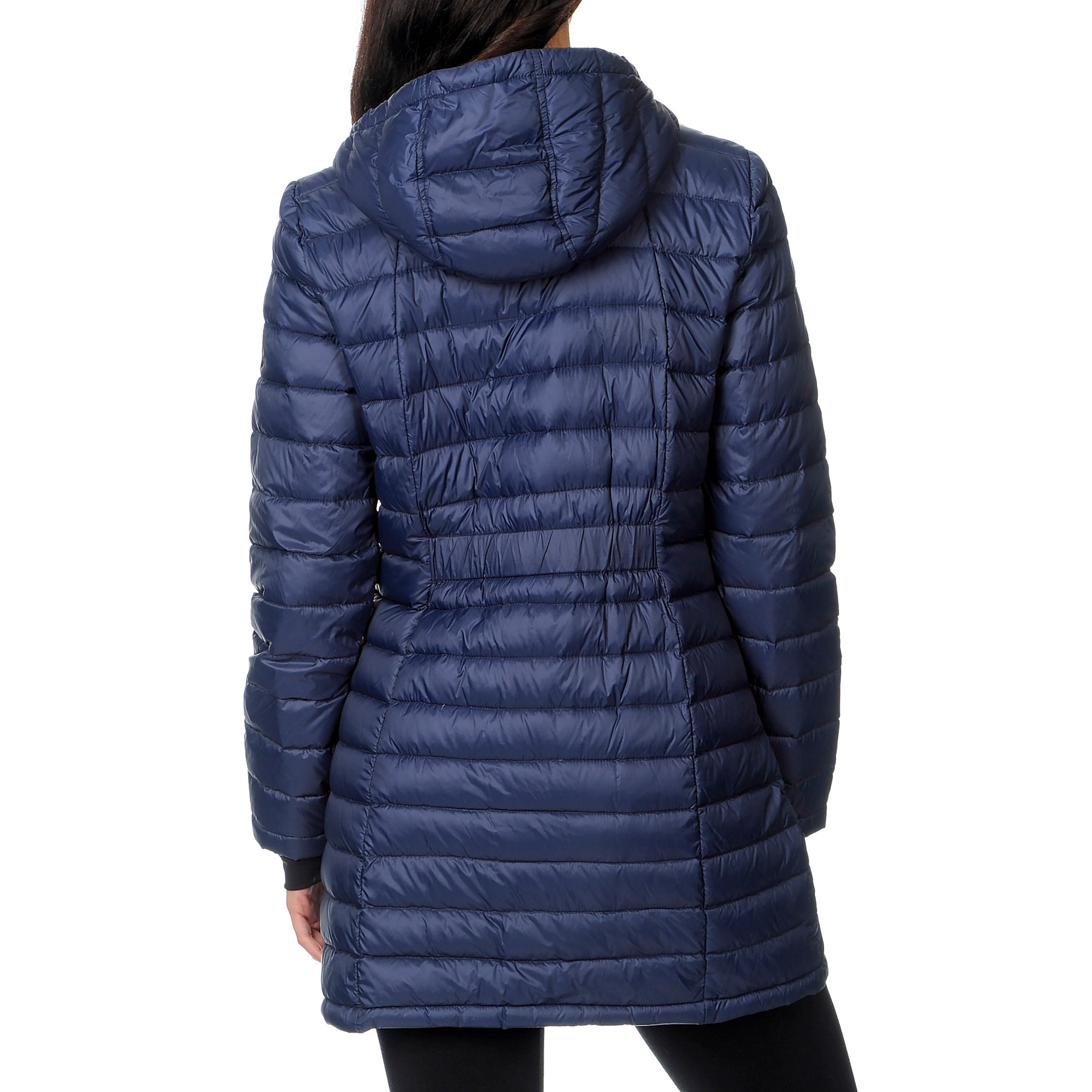 0ebf27bbd2a Shop Halifax Traders Women's Marine Navy Hooded Packable Down Coat - Free  Shipping Today - Overstock - 9423876