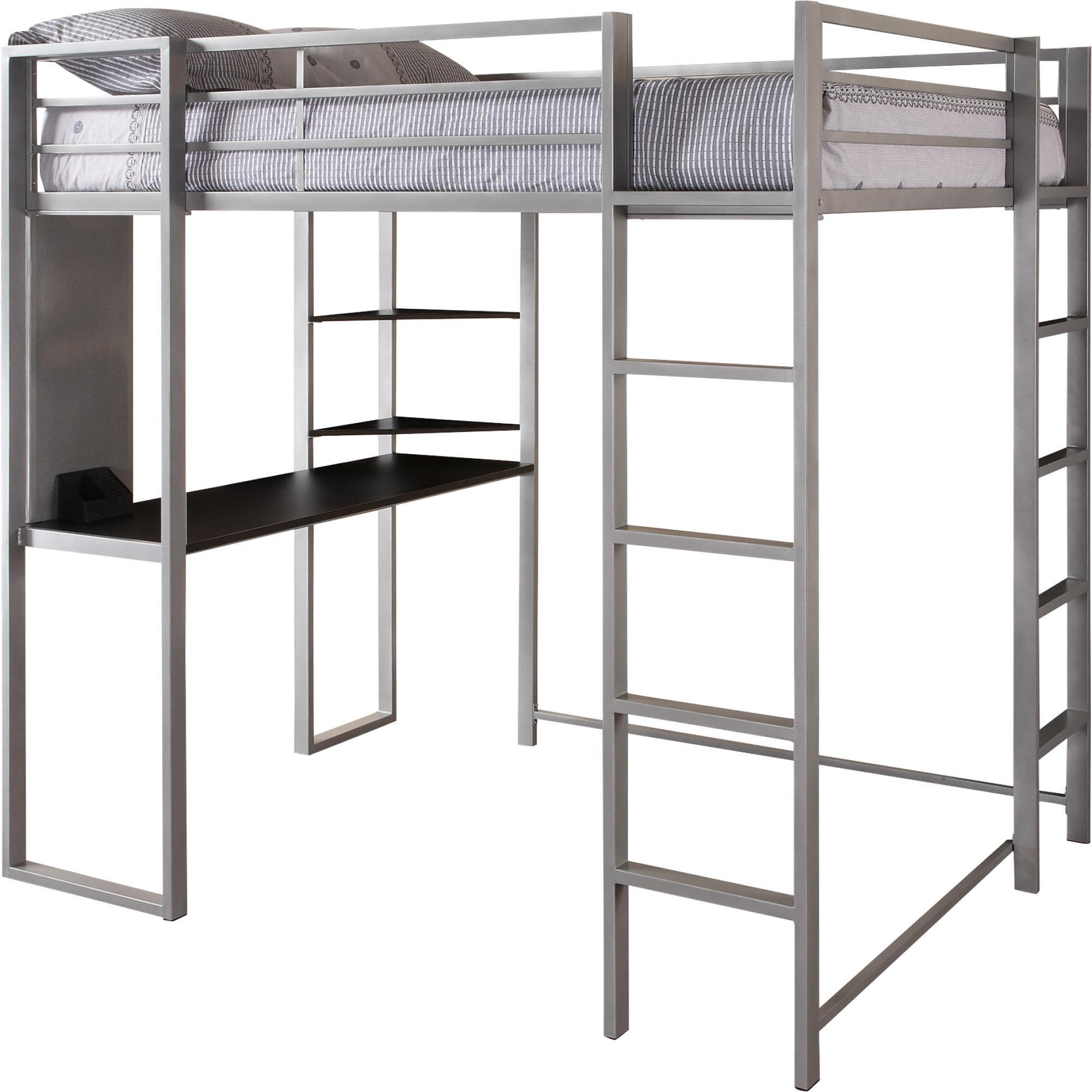daac6204ef6b Shop Taylor   Olive Tubmill Abode Full-size Metal Loft Bed - On Sale - Free  Shipping Today - Overstock - 23599215