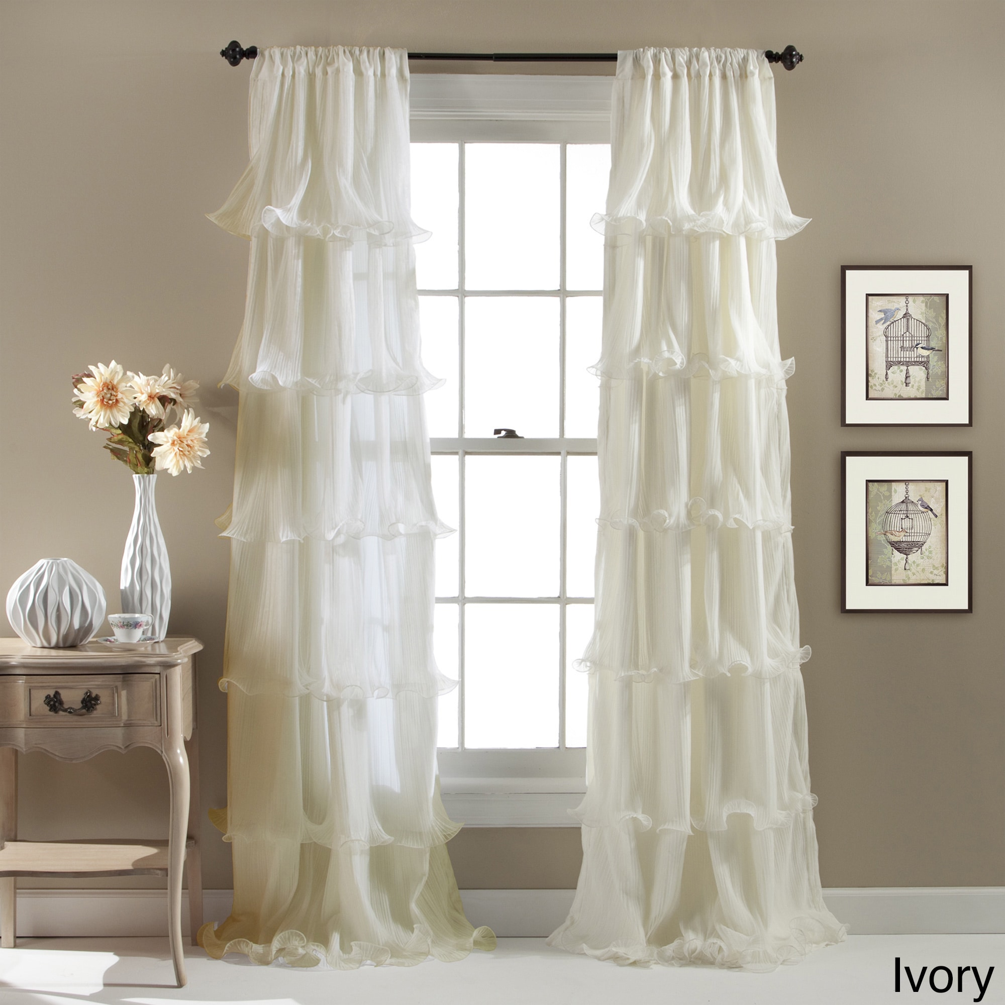 on shipping curtains lush garden panel nerina over product free x orders ruffle curtain home decor overstock ruffled