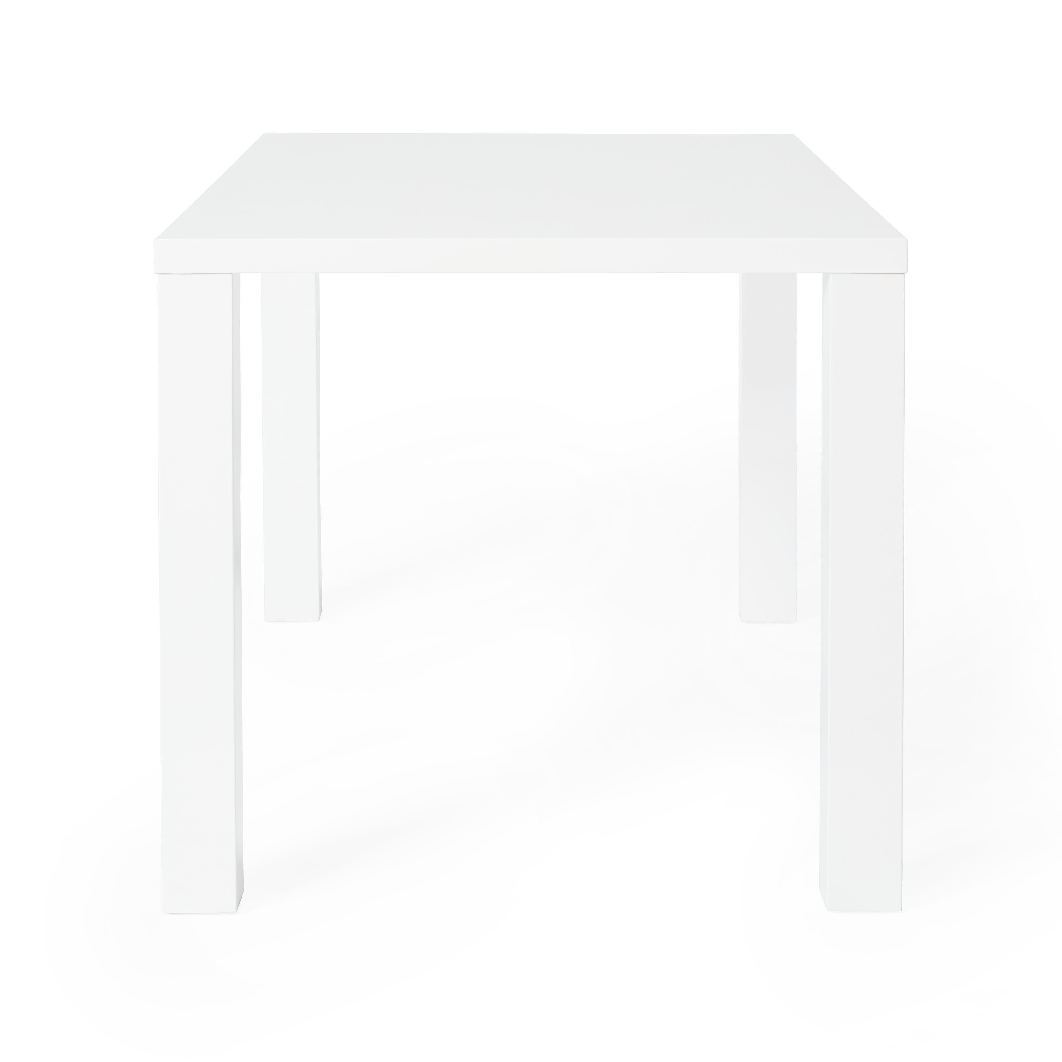 Beau Shop Simple Living Felix Glossy White Dining Table   Free Shipping Today    Overstock.com   9426427