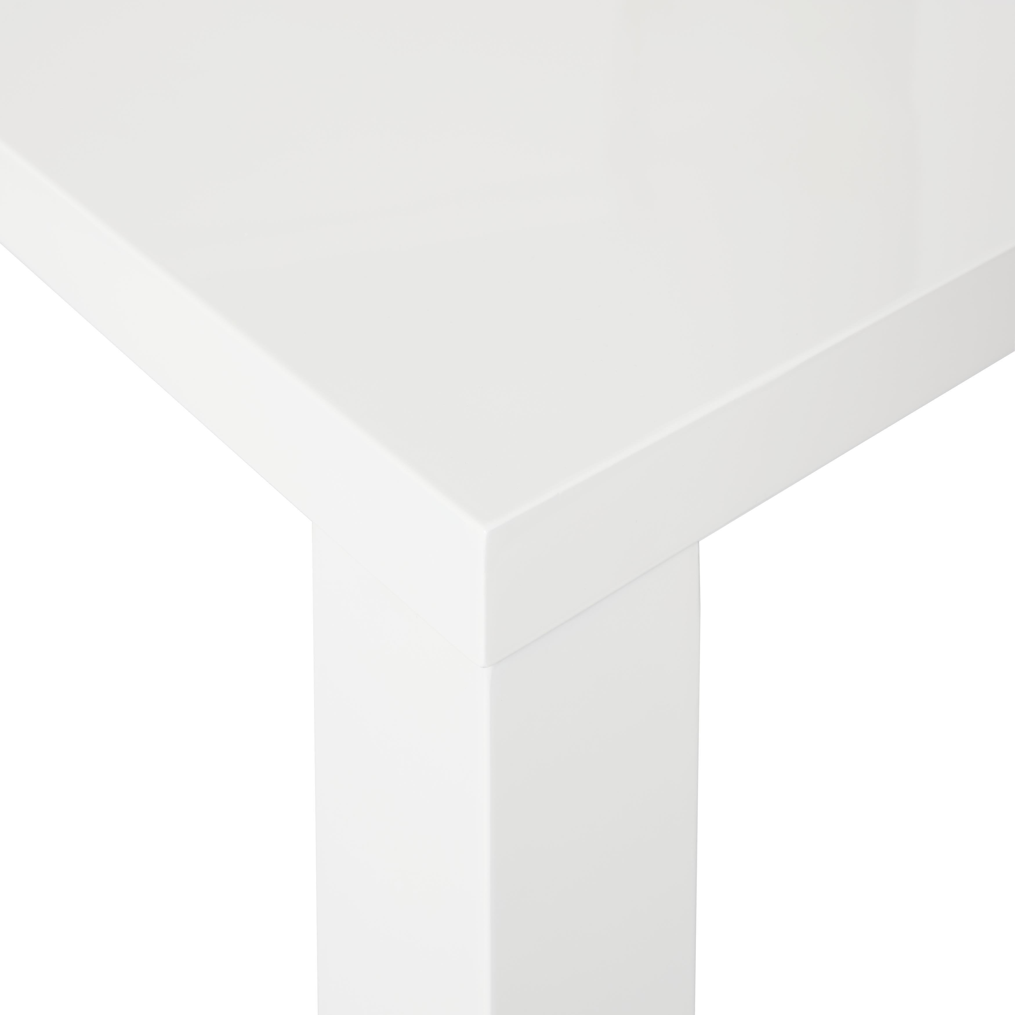 Simple Living Felix Glossy White Dining Table Free Shipping Today 9426427
