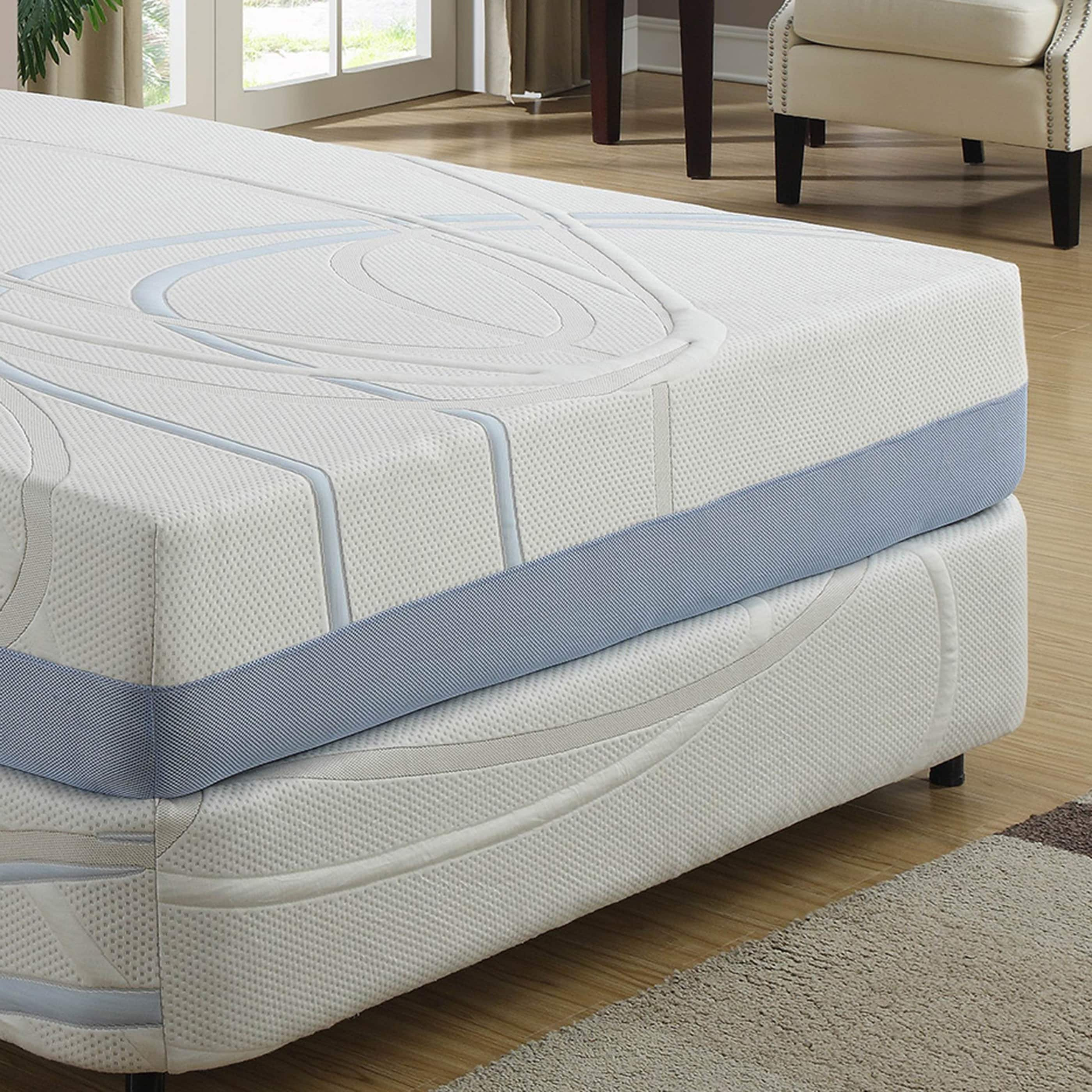 shop 12 inch california king gel infused memory foam mattress on sale free shipping today overstockcom 9426545 - California King Memory Foam Mattress