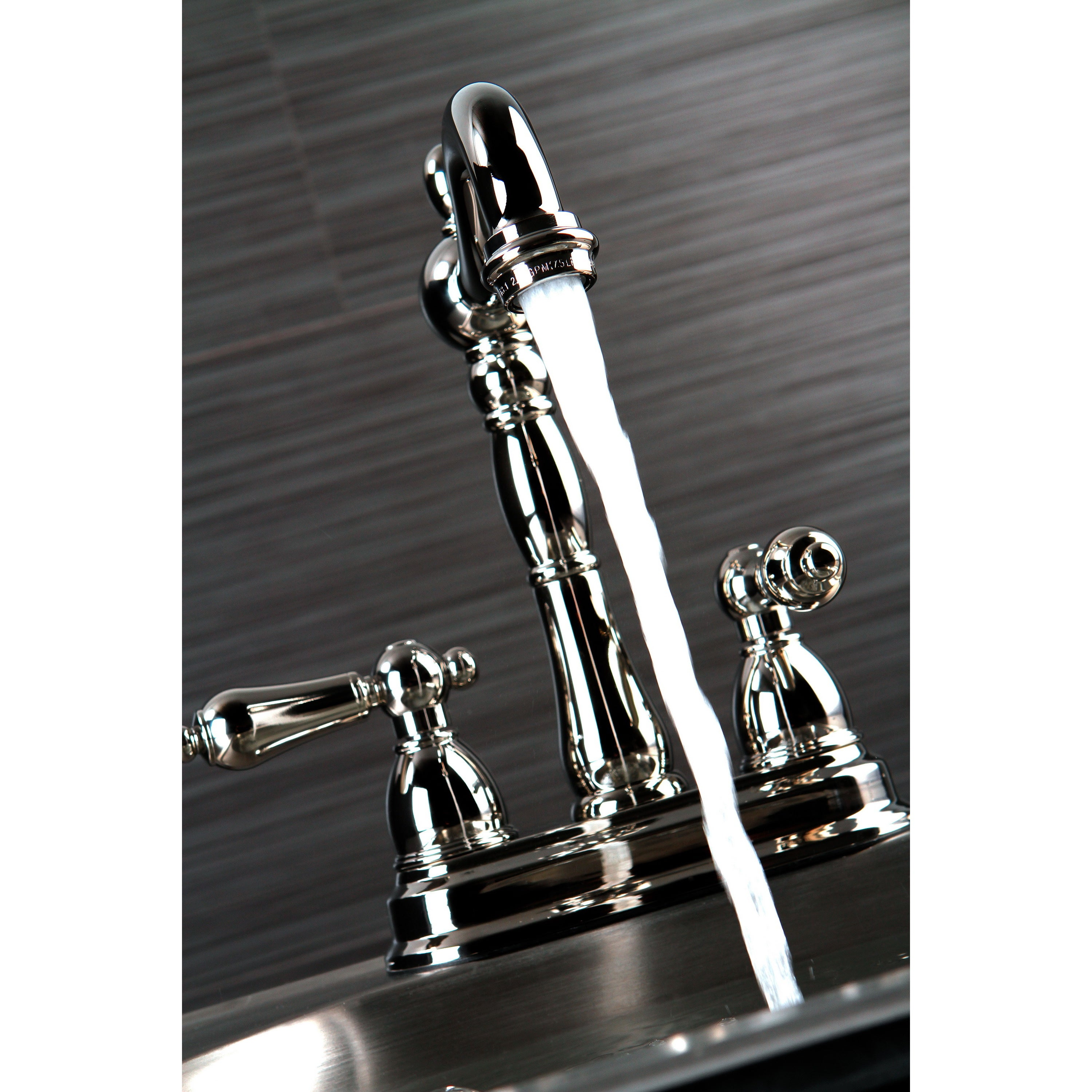 Shop Victorian Polished Nickel Bar Faucet - Free Shipping Today ...