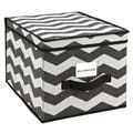 The Macbeth Collection Large Chevron Printed Storage Box