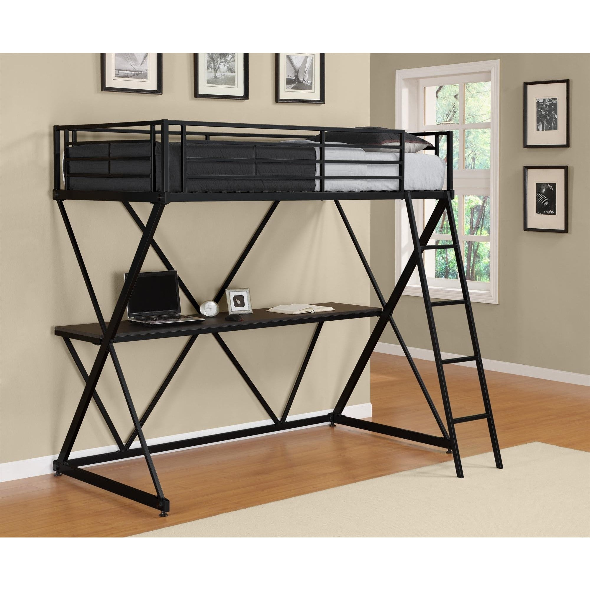 twin walker loft beds hdtsqtolcr bed edison bentley p furniture bunk company metal coral