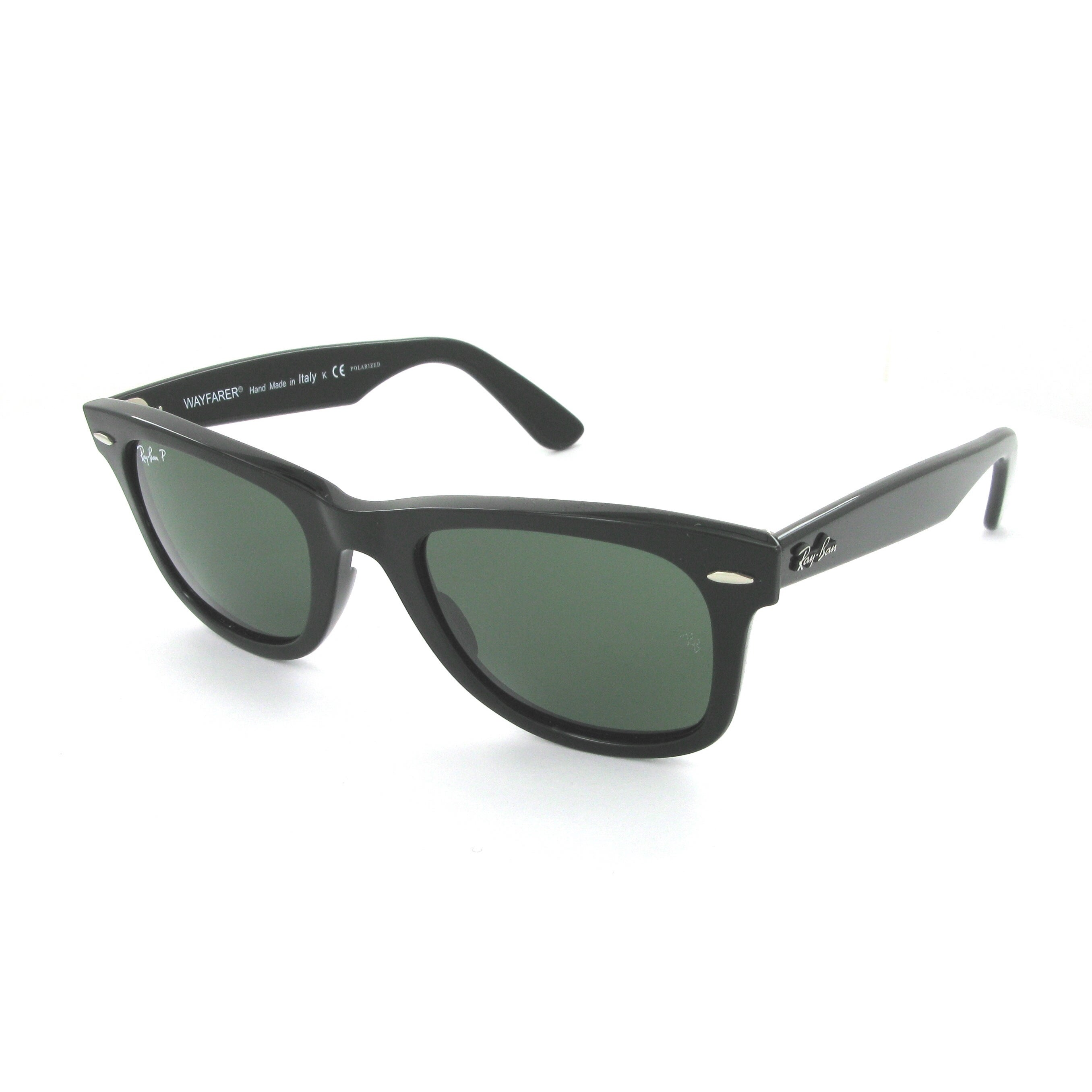 a0831c11c3 Shop Ray-Ban  RB 2140  Polarized Wayfarer Sunglasses - Black - Free  Shipping Today - Overstock.com - 9428270