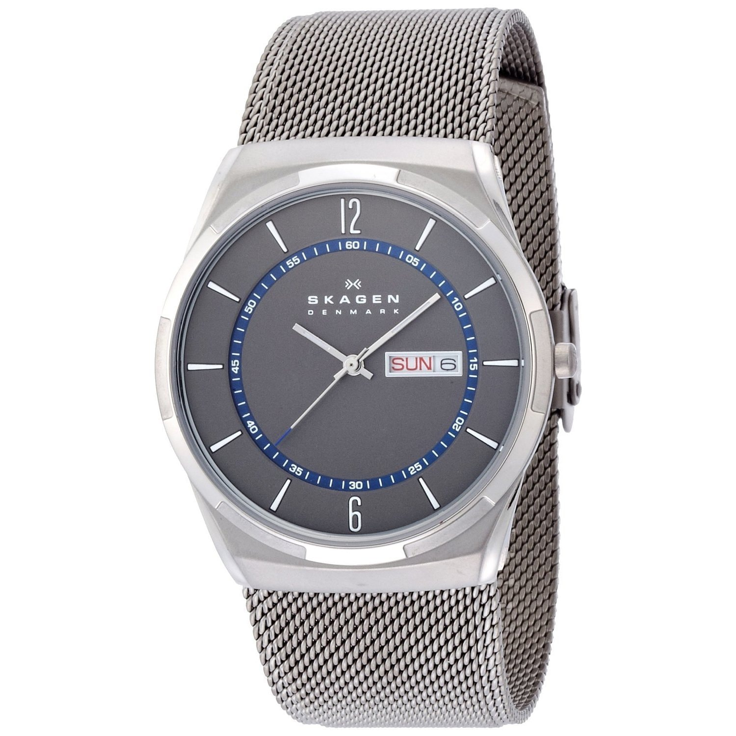 anita diamonds tq watch watches steel skagen metal mesh