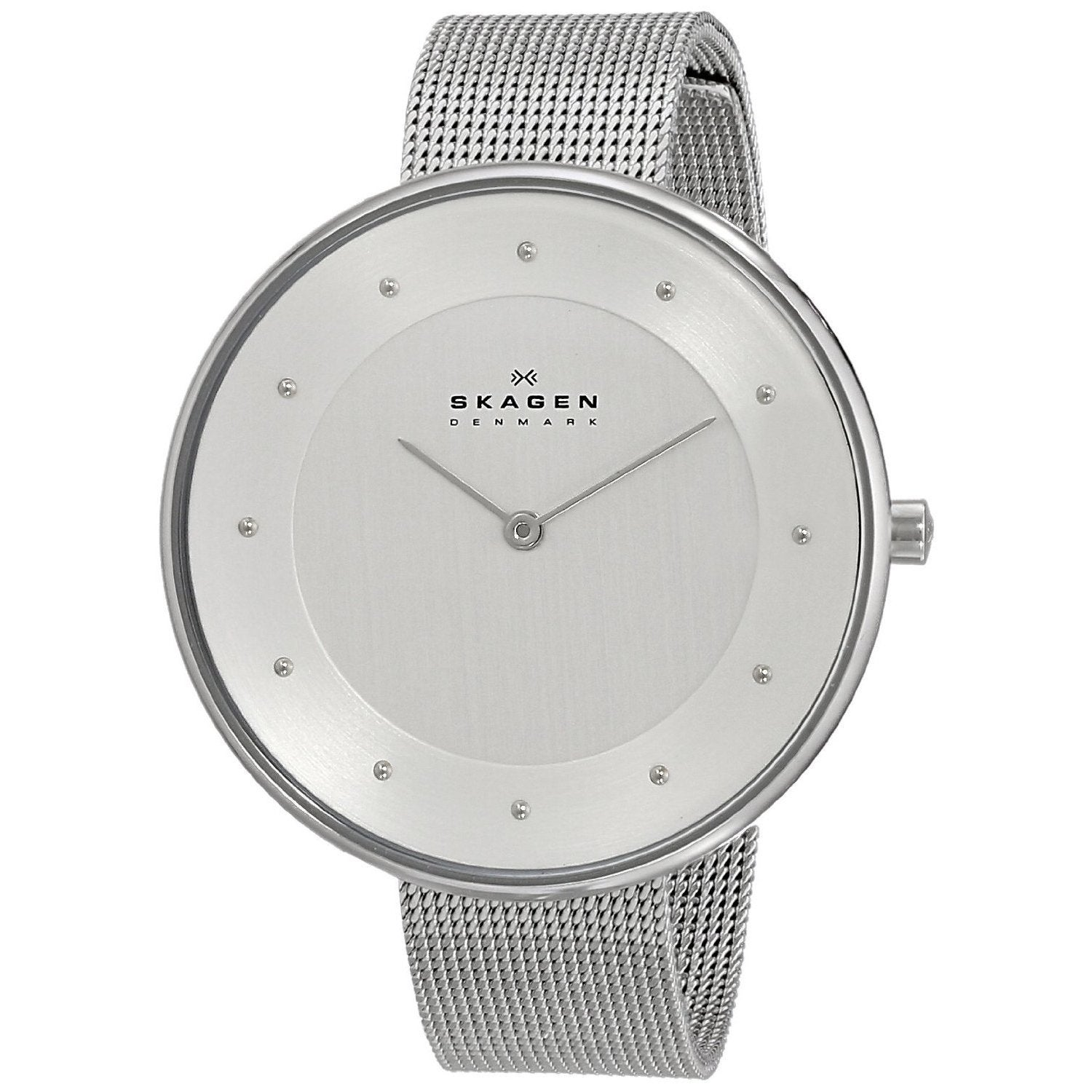 mesh classic ladies stainelss steel skagen mm metal quartz watch watches itm