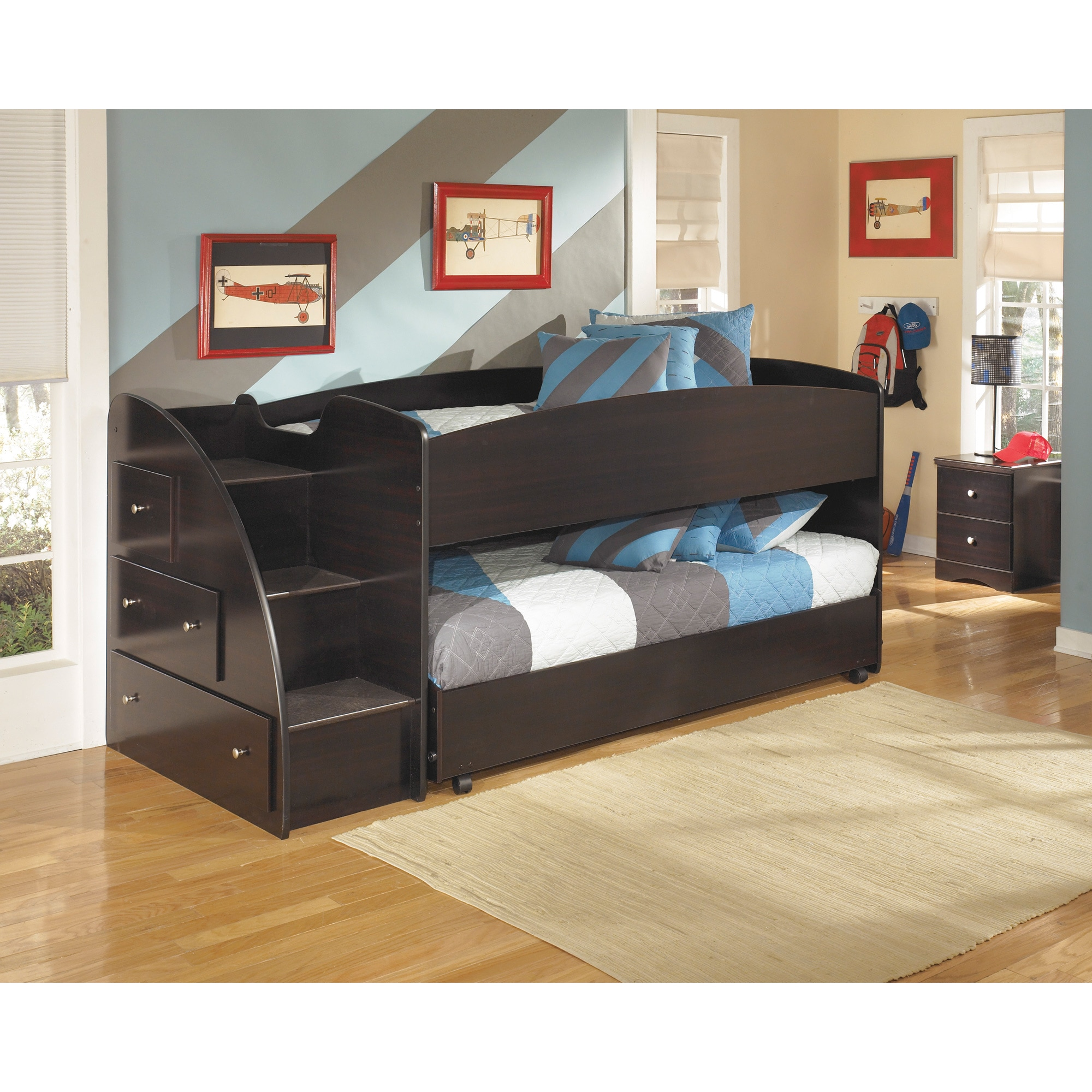 Embrace Loft Bed Set with Loft Caster Bed - Free Shipping Today ...