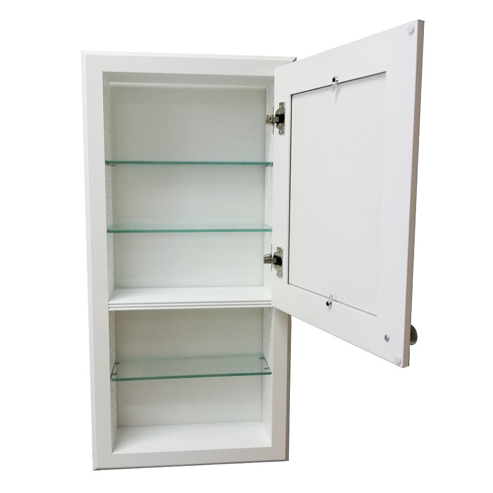 Charmant Shop 30 Inch Regal Series In The Wall Cabinet And Shelf With Beadboard Door    Free Shipping Today   Overstock.com   9443824