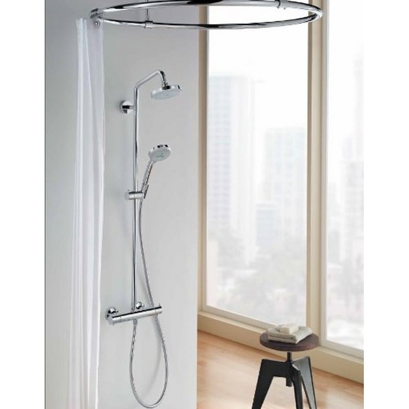 Exceptional Hansgrohe 27169001 Chrome Showerpipe   Free Shipping Today   Overstock    16630388