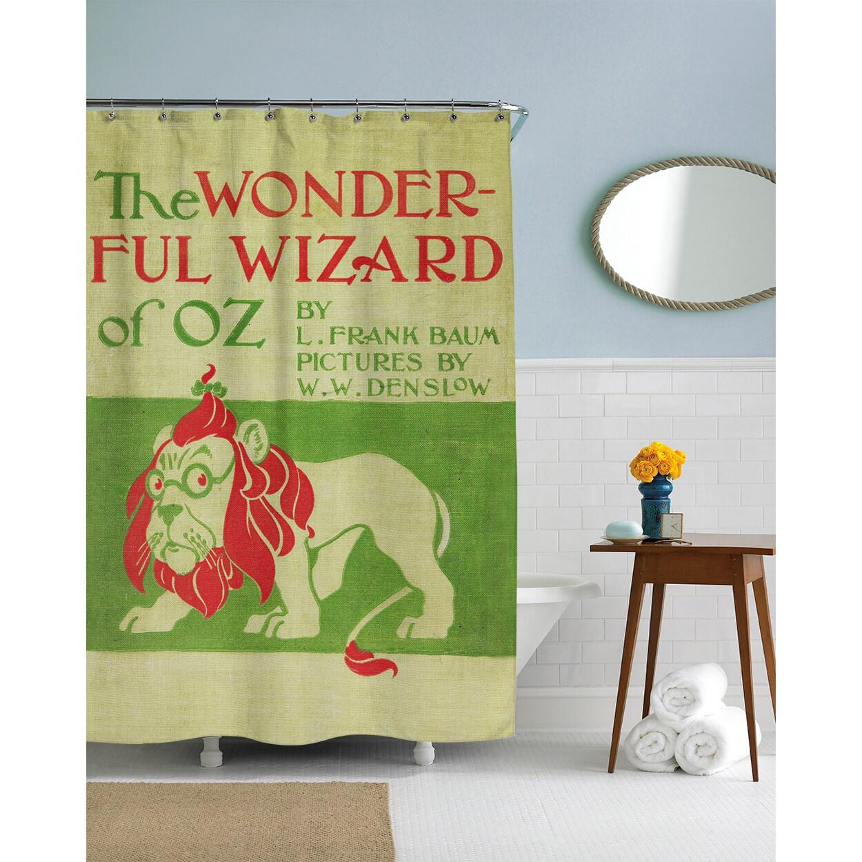 Shop Wizard Of Oz Shower Curtain
