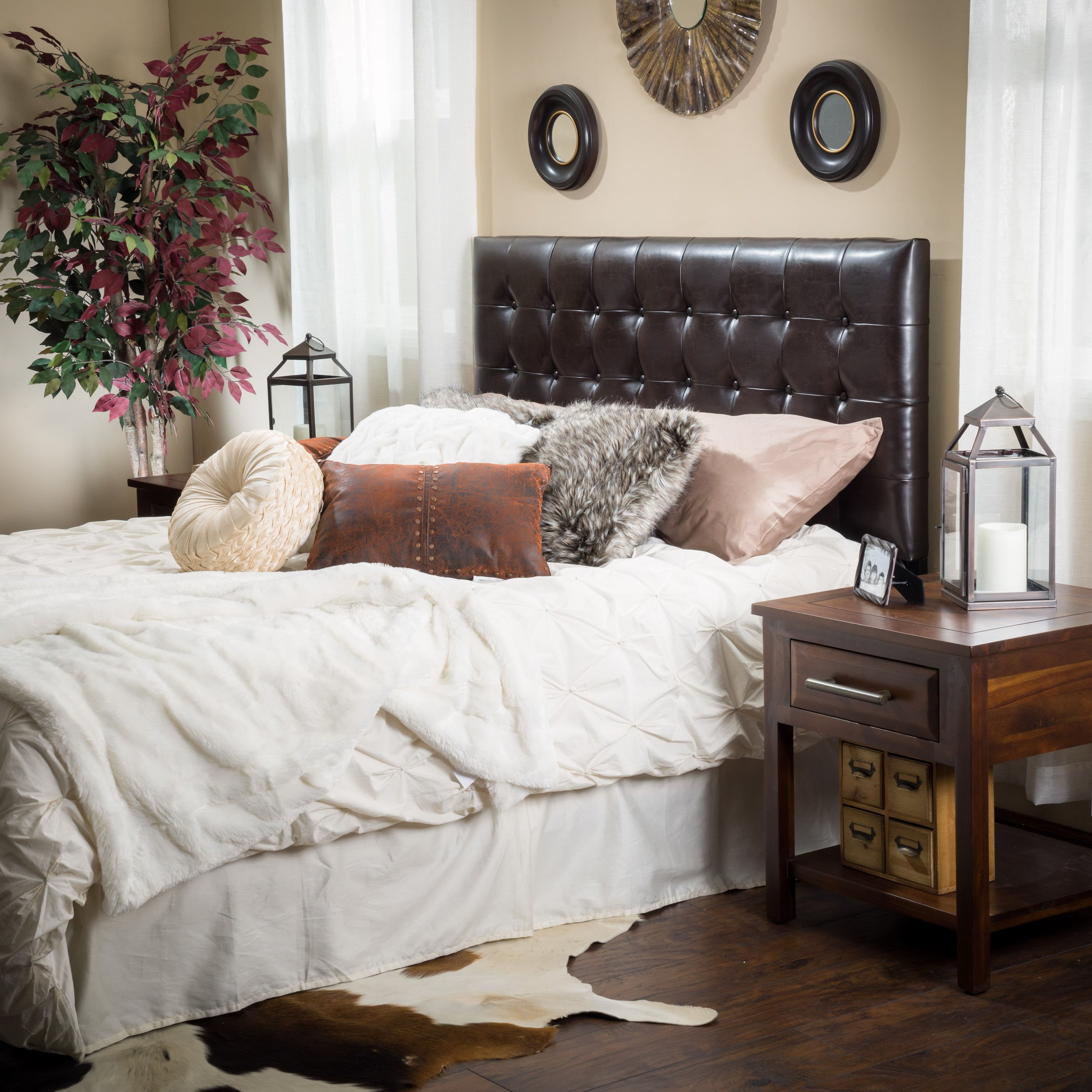 with footboard headboard and tufted leather bed queen upholstered