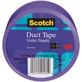 Scotch Solid Color Duct Tape 1.88:x20yd-Violet-Purple