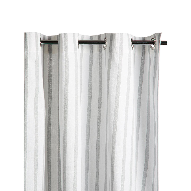 Shop Thin Stripe Shower Curtain