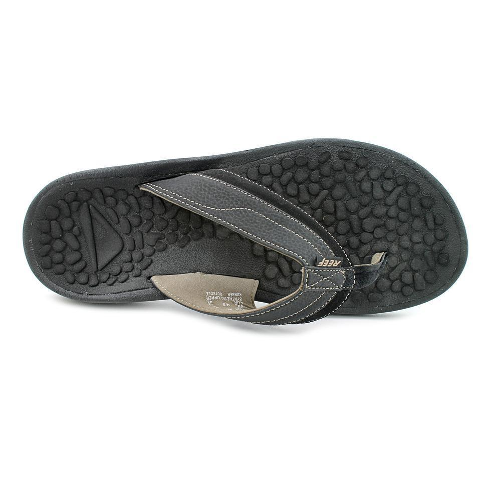 1f97e3fbf436 Shop Reef Men s  Playa Negra  Synthetic Sandals (Size 12 ) - Free Shipping  Today - Overstock - 9473171