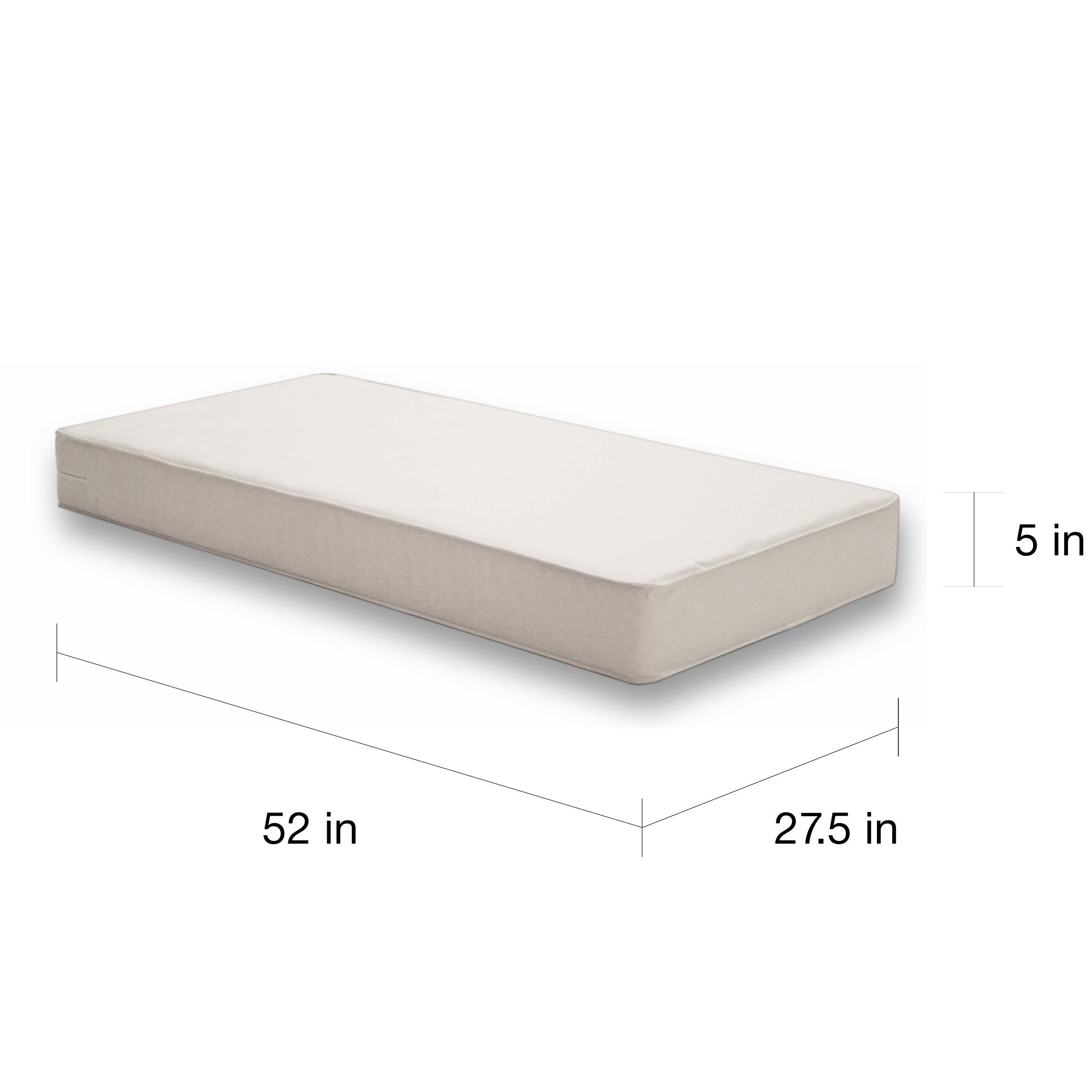 Dhp Safety First Heavenly Dreams Firm Crib Mattress Free Shipping Today 9473758