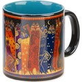 Laurel Burch Artistic Mug Collection-Santa Fe Felines