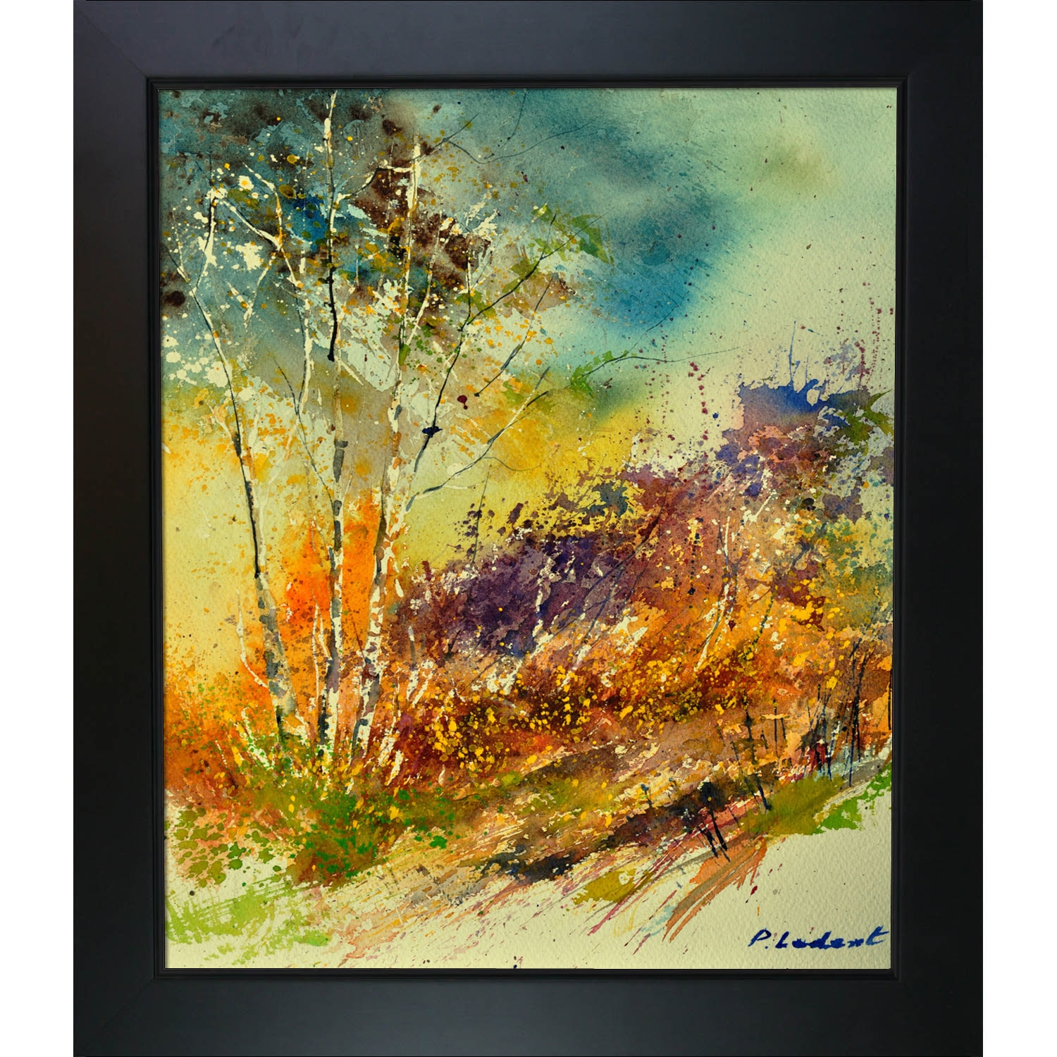 Shop Pol Ledent \'Watercolor 115060\' Framed Fine Art Print - On Sale ...