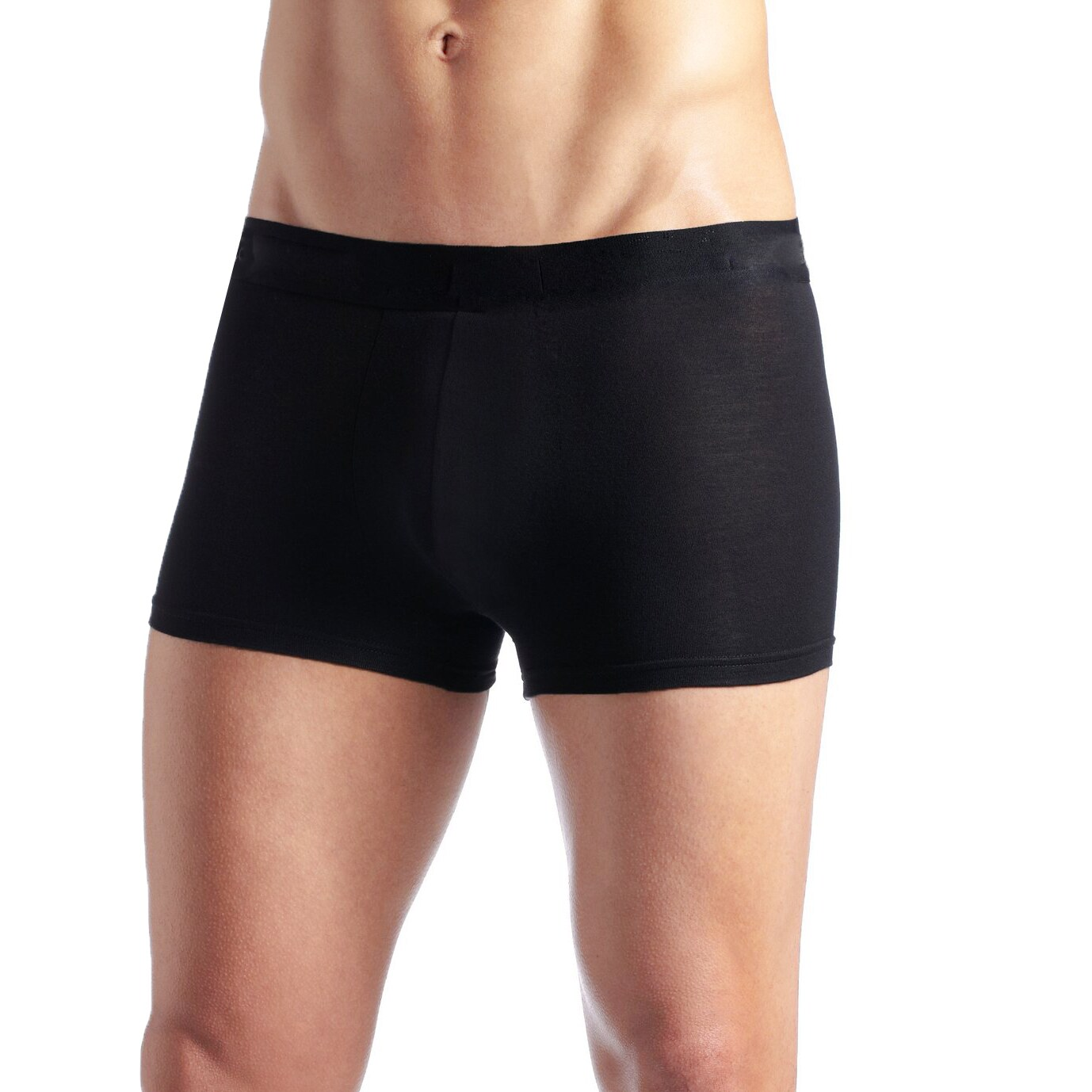 01e953a9f773 ToBeInStyle Men's Seamless Microfiber Boxer Briefs (Pack of 6) (One size)