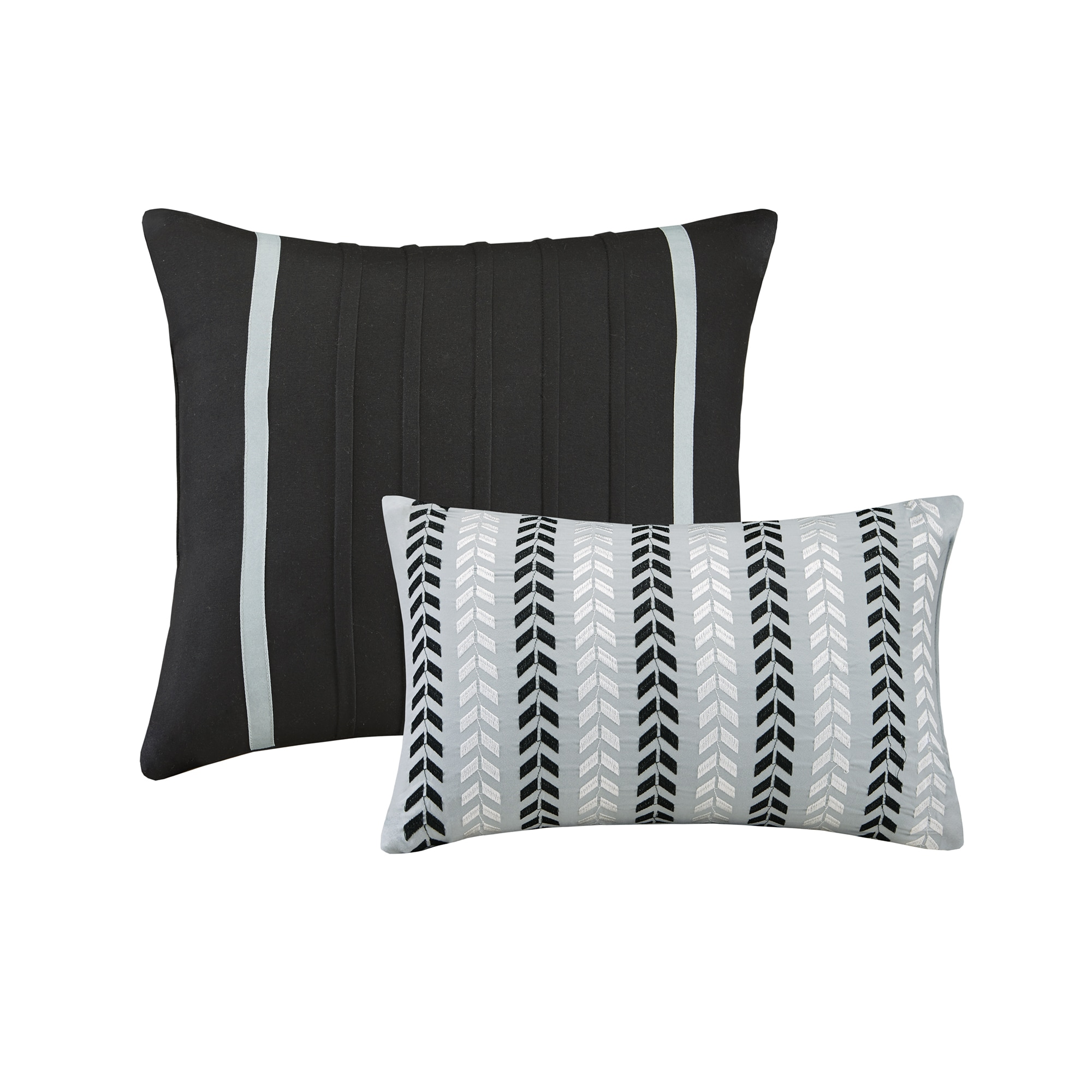 Intelligent Design Laila Chevron 5 piece forter Set Free