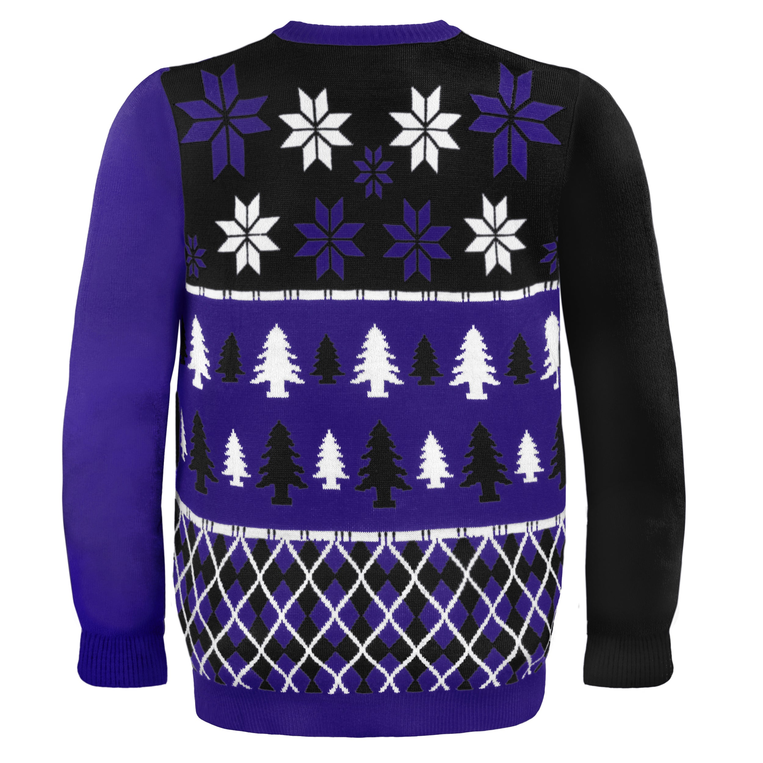 647c8a808 Shop Baltimore Ravens Busy Block Ugly Sweater - Free Shipping Today -  Overstock.com - 9482175