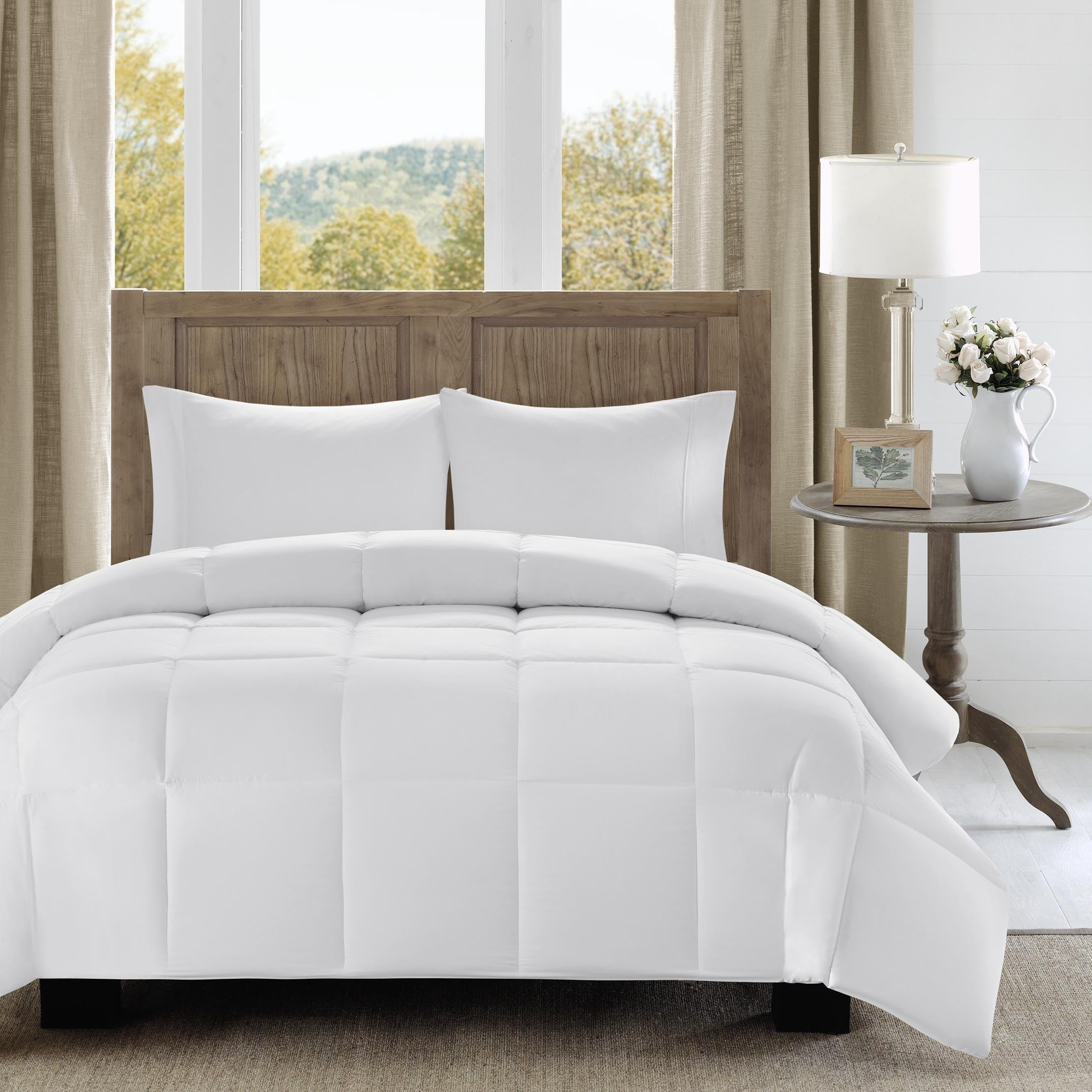 with classics resistant down windsor alternative comforter stain treatment bedding mini product bath reversible park set madison home essentials