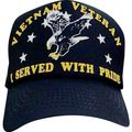 Vietnam War Veteran I Served With Pride Cap