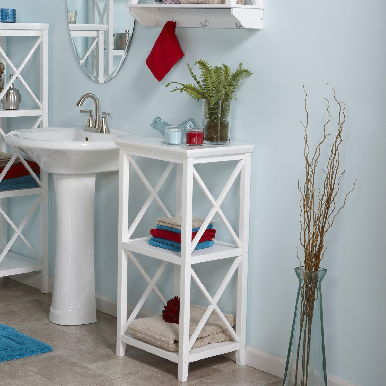 Shop RiverRidge X-Frame 3-Shelf Storage Tower - Free Shipping Today ...
