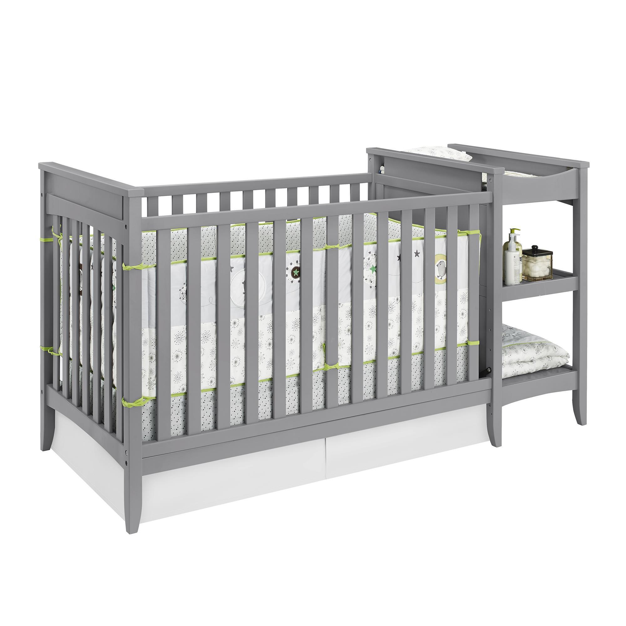 and changing delta crib cute with in gateway metal table