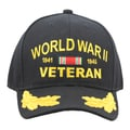 Military WWII Veteran Cap with Scrambled Eggs
