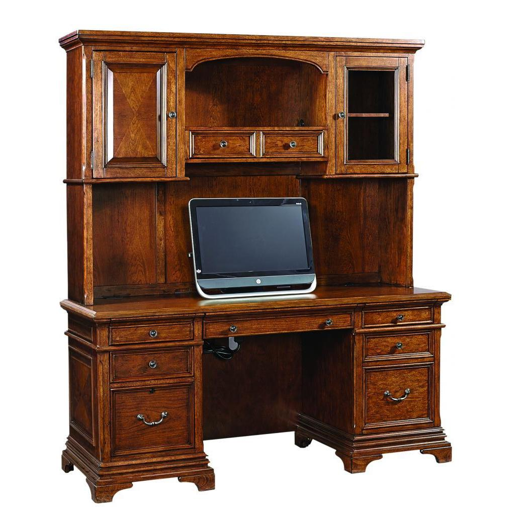 Ethan 66 Inch Curved Executive Desk Credenza And Hutch With Office Chair Free Shipping Today 16671123