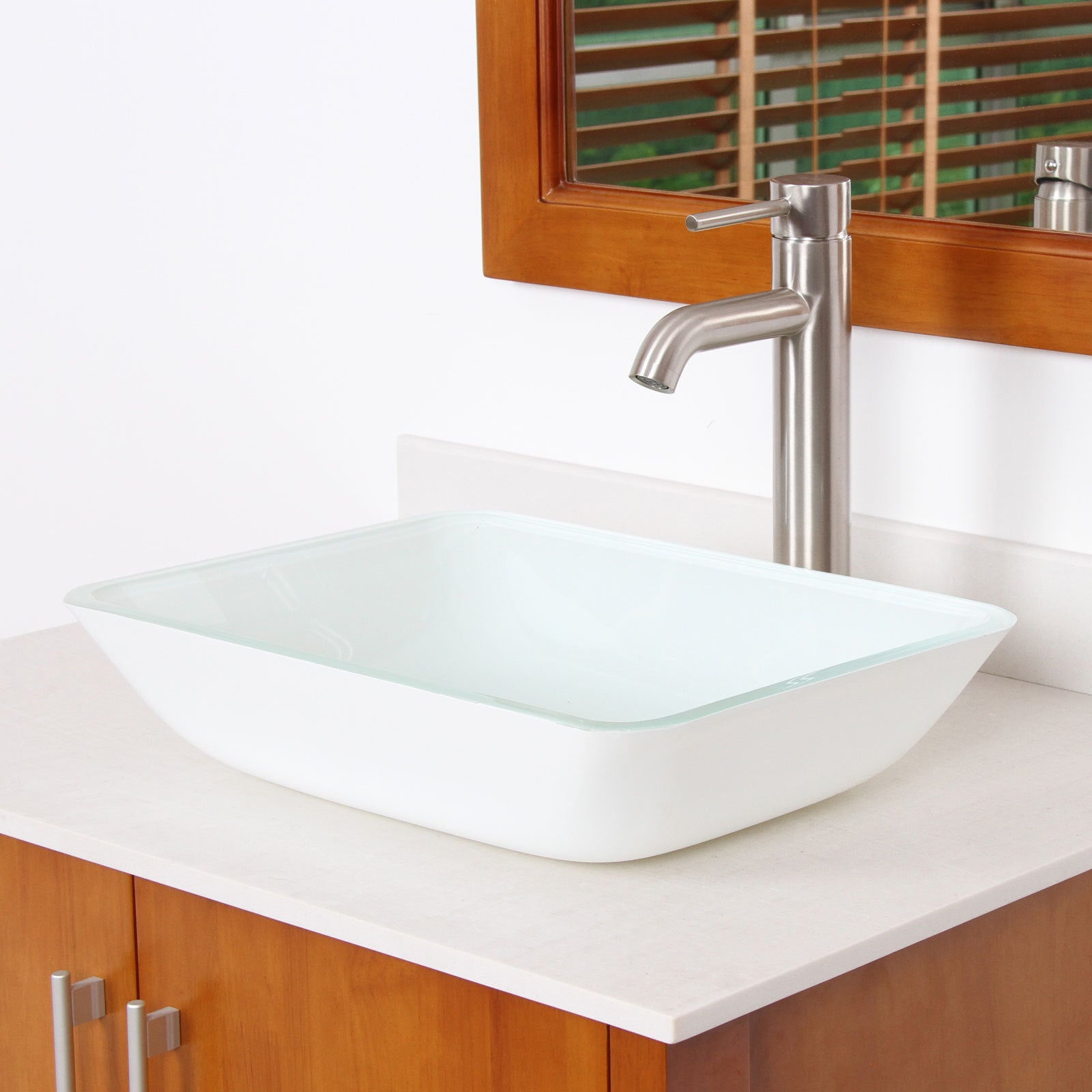 counter translucence sink without collection vessel decolav tempered a countertops sacrificing tbk designed thick products are montana in lavatories glass these use any bathroom durability creating round sinks above centerpiece for