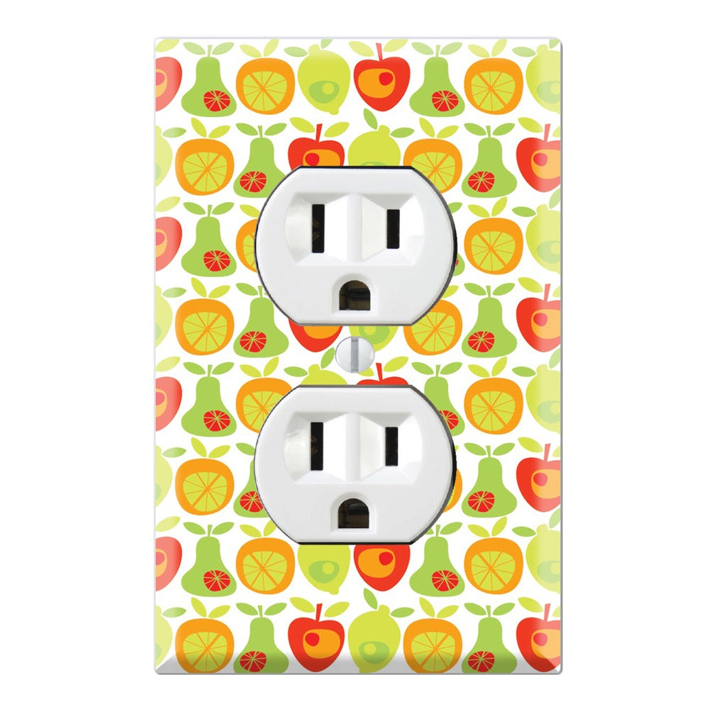 Fruit Pattern Wall Plate Cover - Free Shipping On Orders Over $45 ...