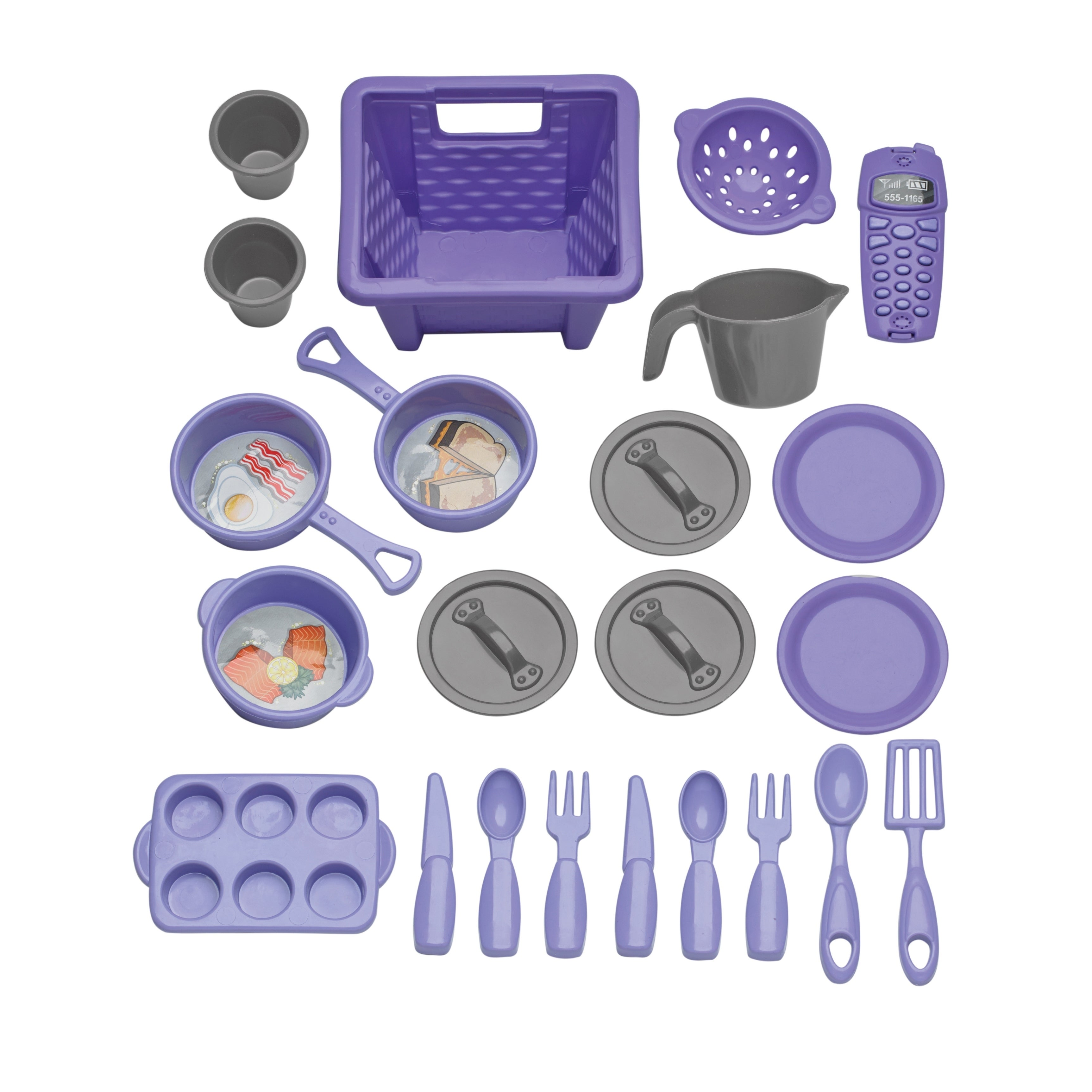 Shop American Plastic Toys My Very Own Sweet Treat Kitchen   Pink/Purple    Free Shipping On Orders Over $45   Overstock.com   9495739