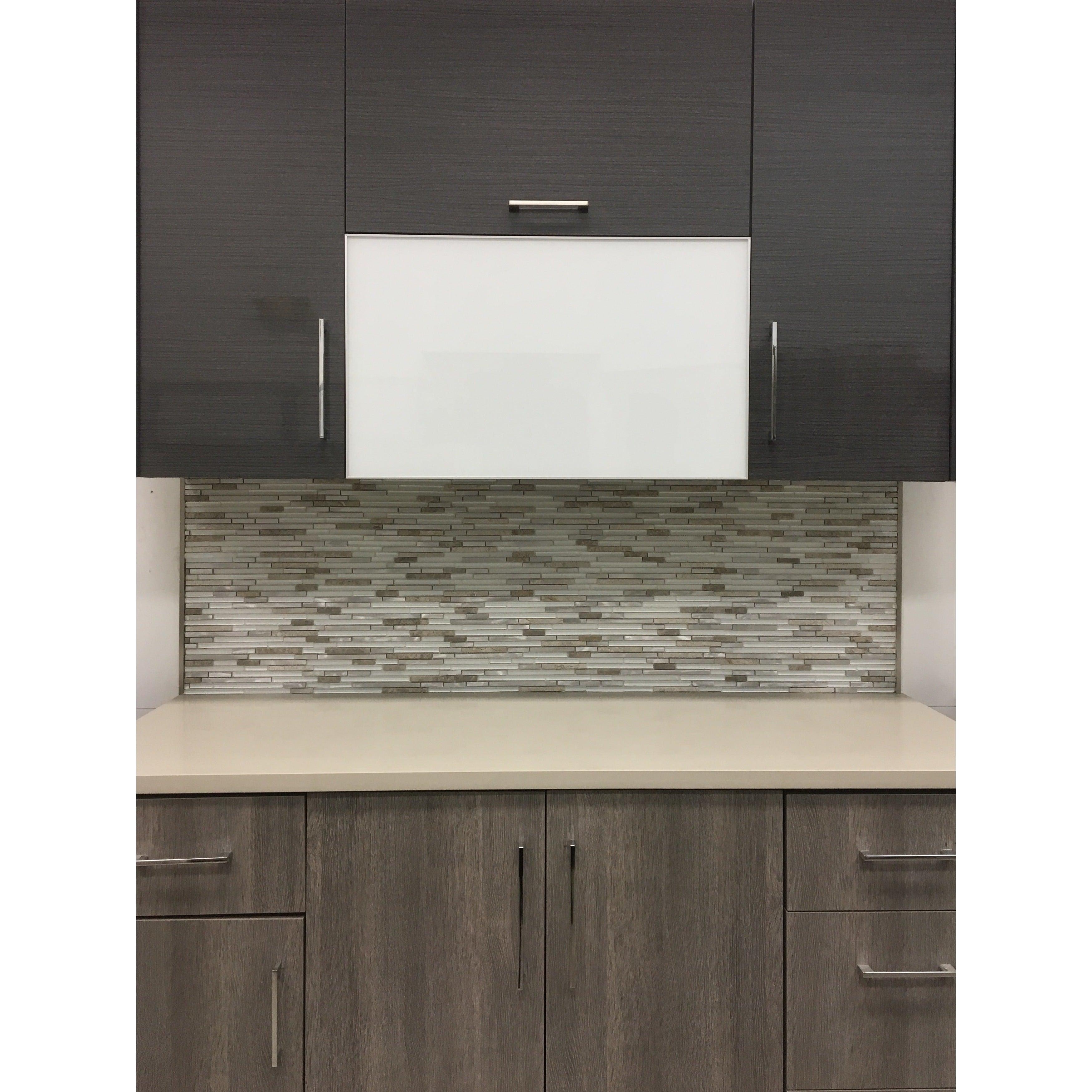 Shop Martini Mosaic Riga Dazzle Stone 12 x 12-inch Backsplash Tile on