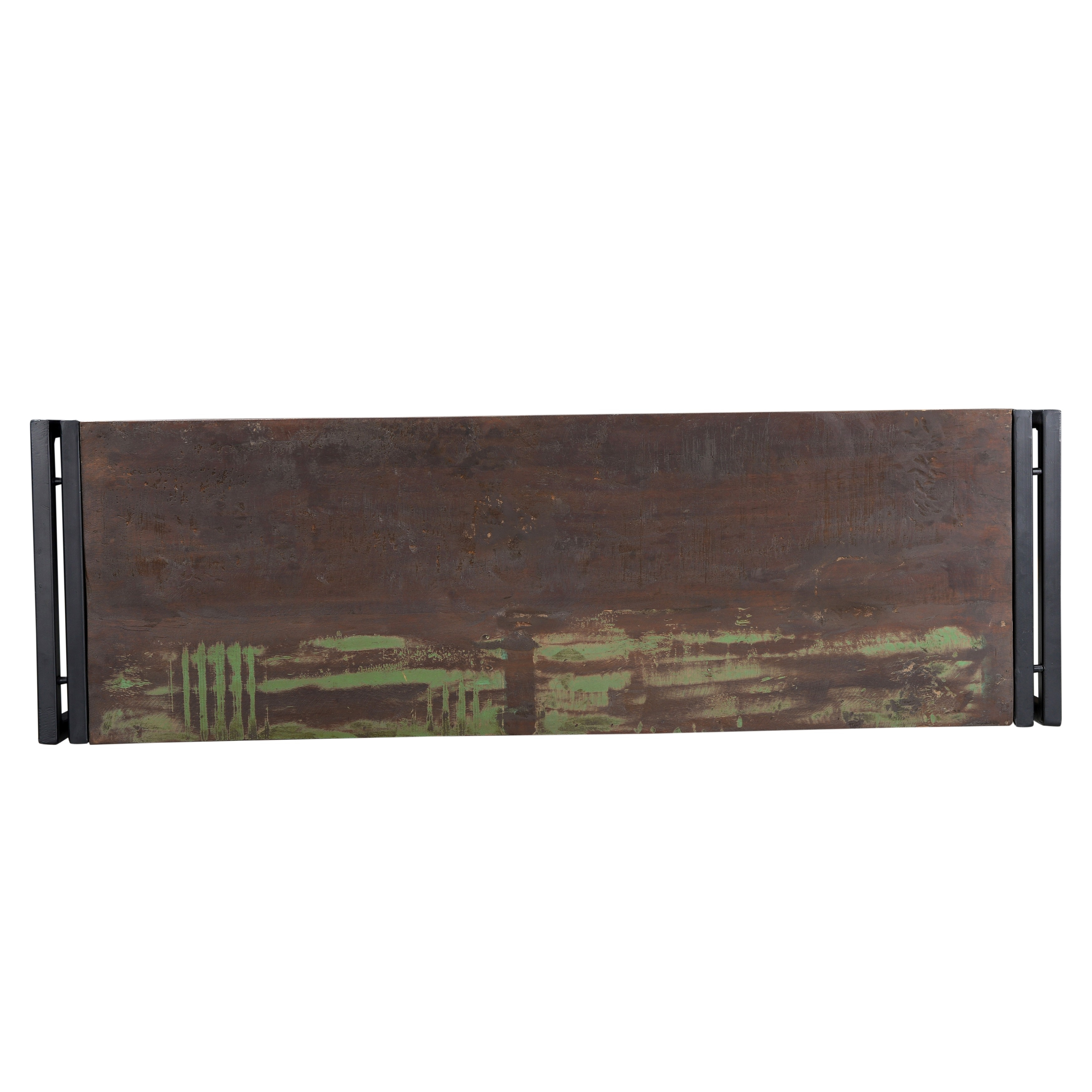 Shop Handmade Timbergirl Old Reclaimed Wood Bench With Metal Legs (India)    Free Shipping Today   Overstock.com   9506249