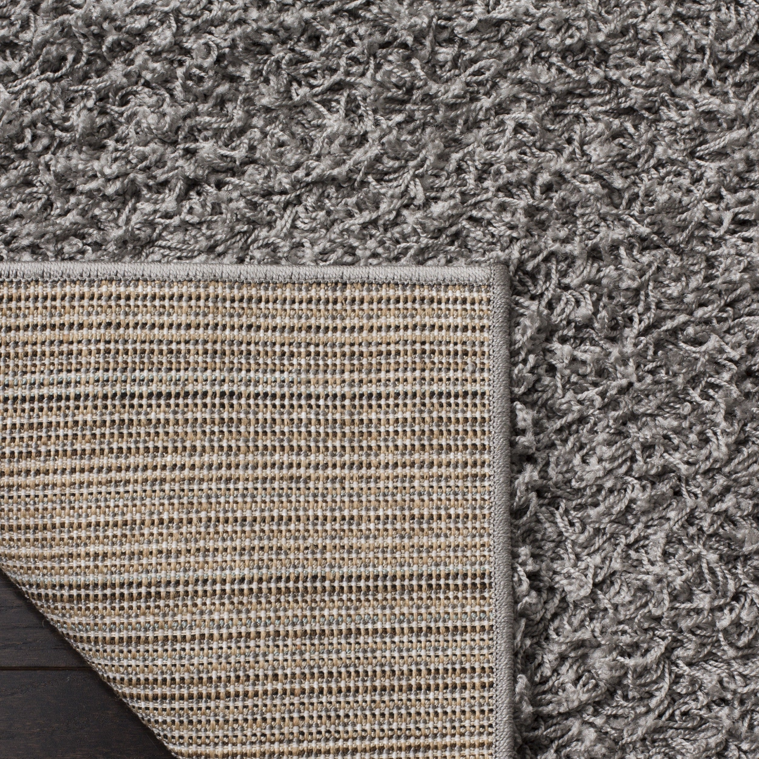 campman shag gra rug rugs of designer wool cream light grey bc gravel brink products mix and shaggy