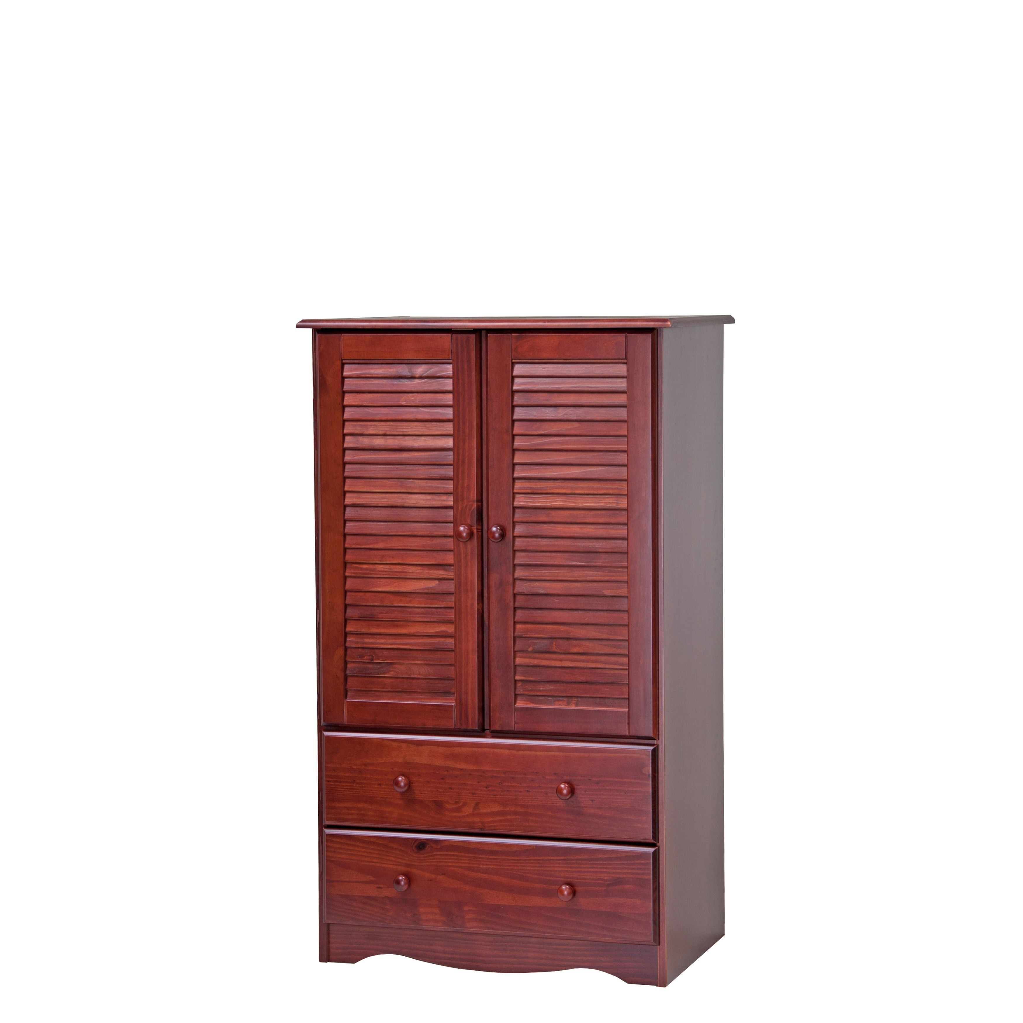Exceptionnel Palace Imports Petite Solid Wood Armoire   Free Shipping Today    Overstock.com   16692366