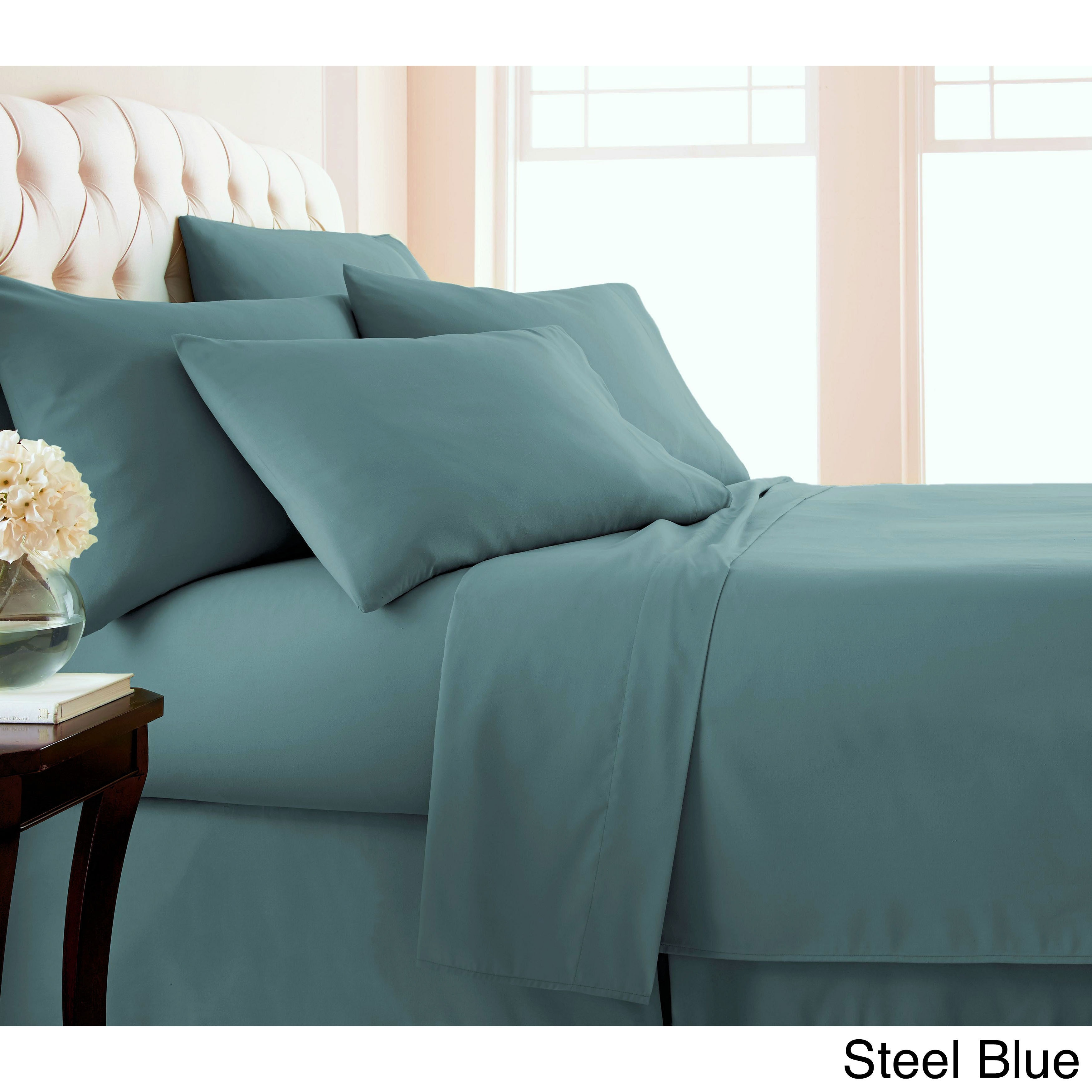 Comfortable 6piece 21inch Extra Deep Pocket Bed Sheet Set by