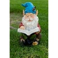 Gnome Reading Book Statuary