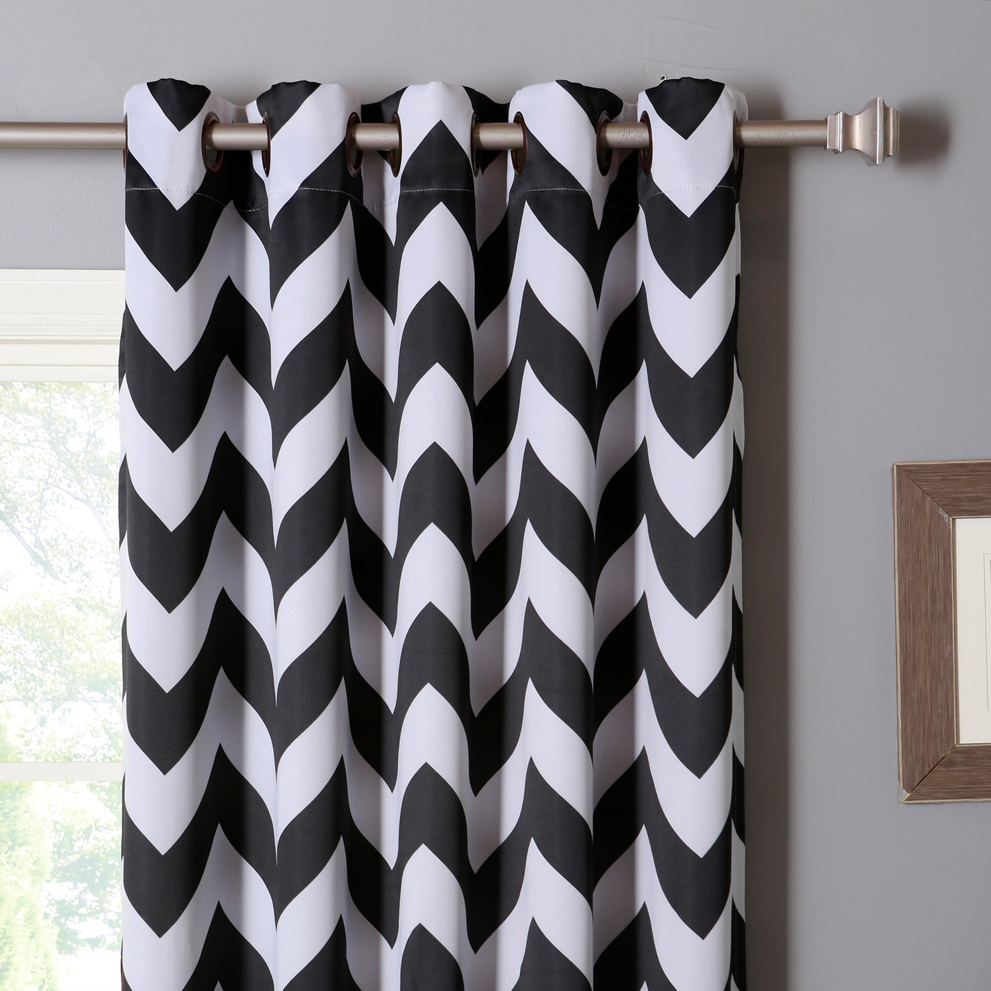 white dark chevron curtain wonderful bathroom black luxury canada unique and of net grey blackout curtains ideas gopelling