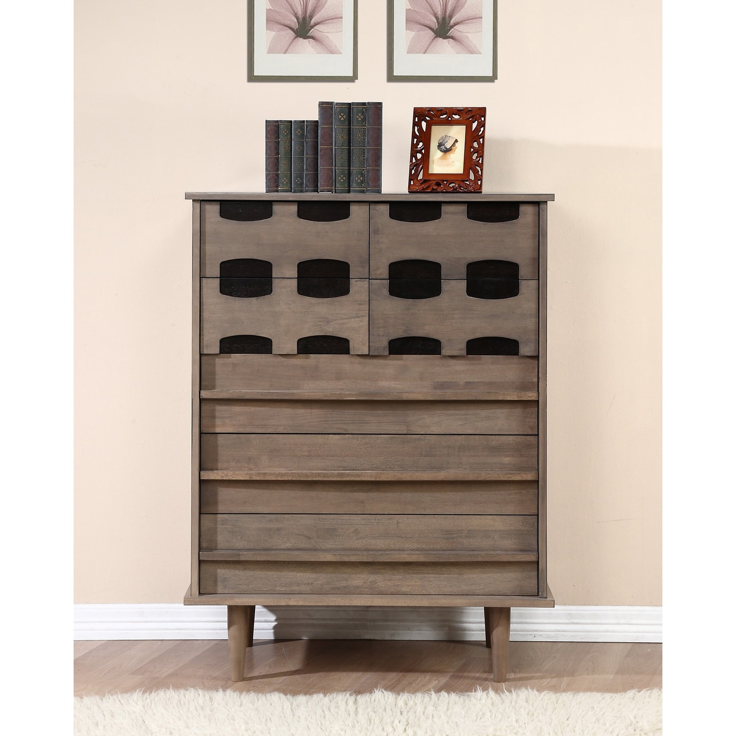 light portofino three painted chest oak of villeneuve grey drawers french furniture drawer